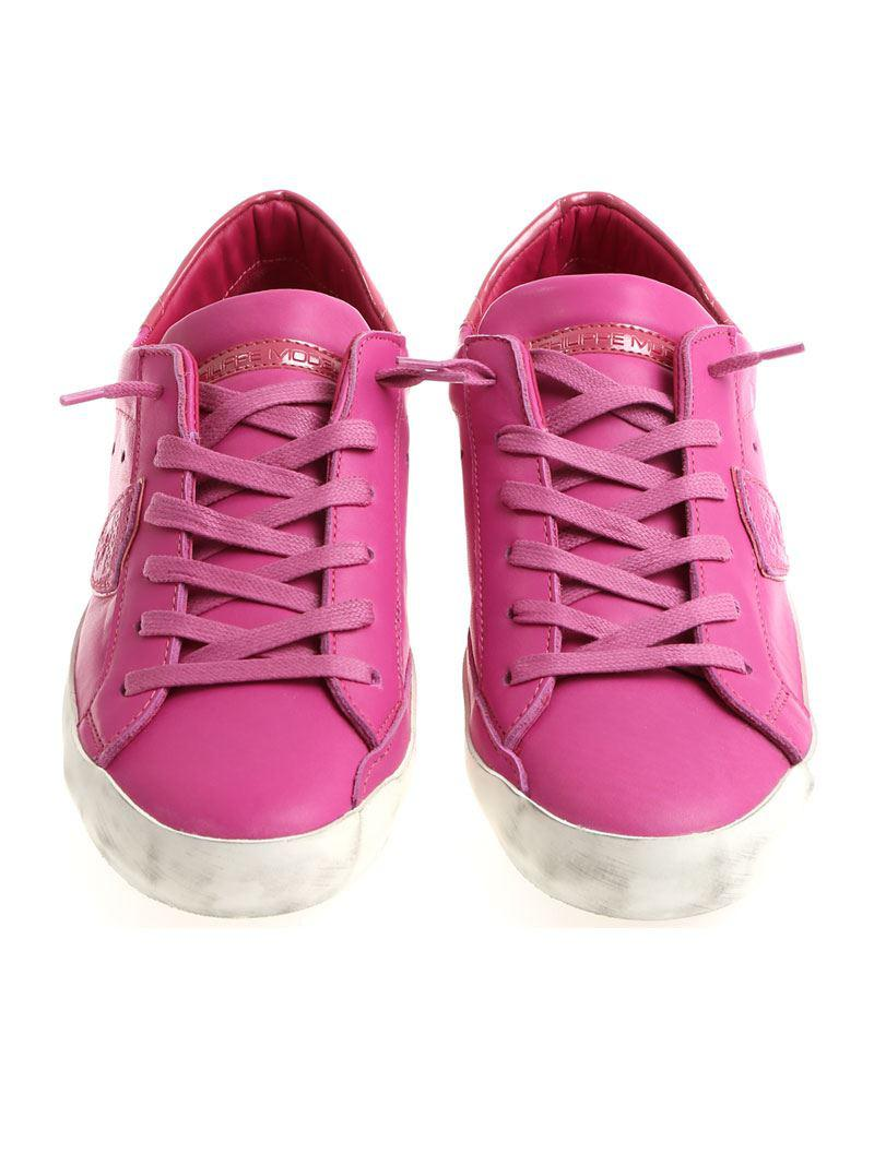 reputable site ca6e2 1ab7d philippe-model-fuchsia-Fuchsia-Paris-L-Sneakers.jpeg