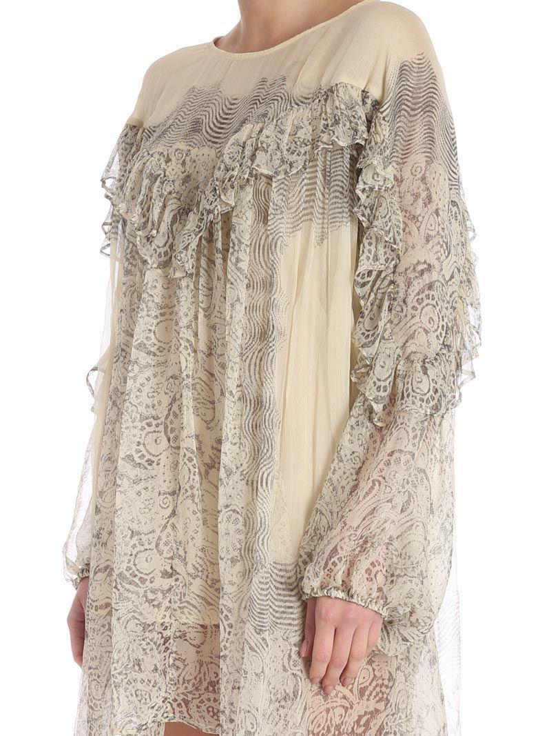 Lamour cream mini dress Mes Demoiselles... GCyfz