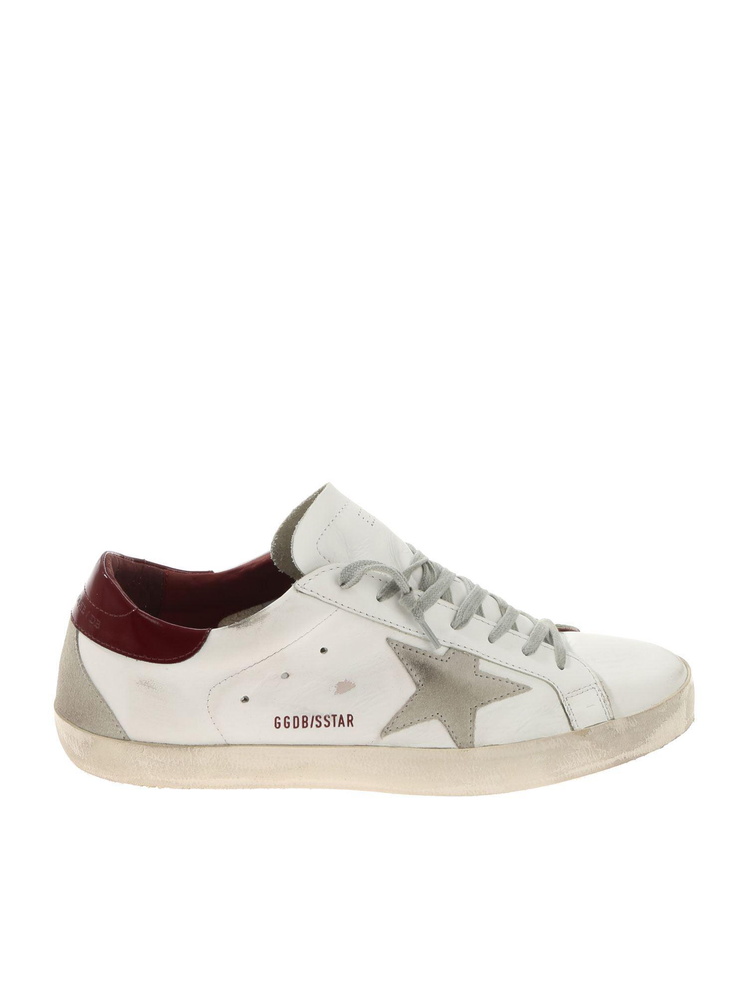 cd245db29b6b Golden Goose Deluxe Brand. Men s Superstar White Vintage Effect Sneakers