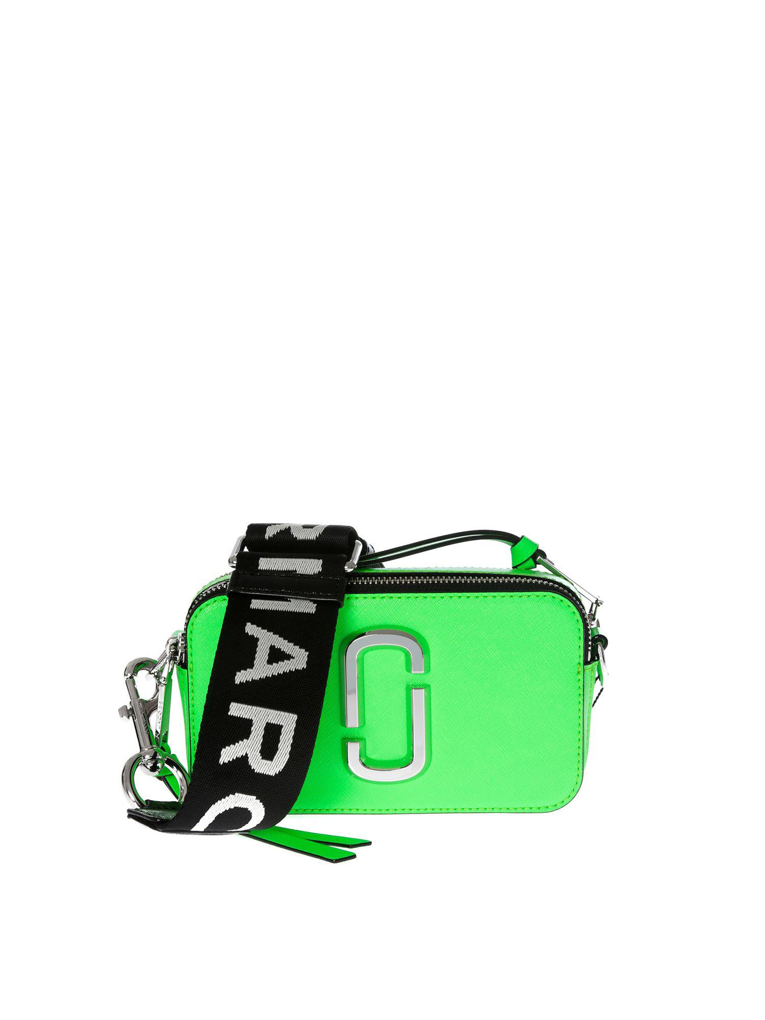 544b70be0a5f Lyst - Marc By Marc Jacobs Snapshot Camera Neon Green Bag in Green
