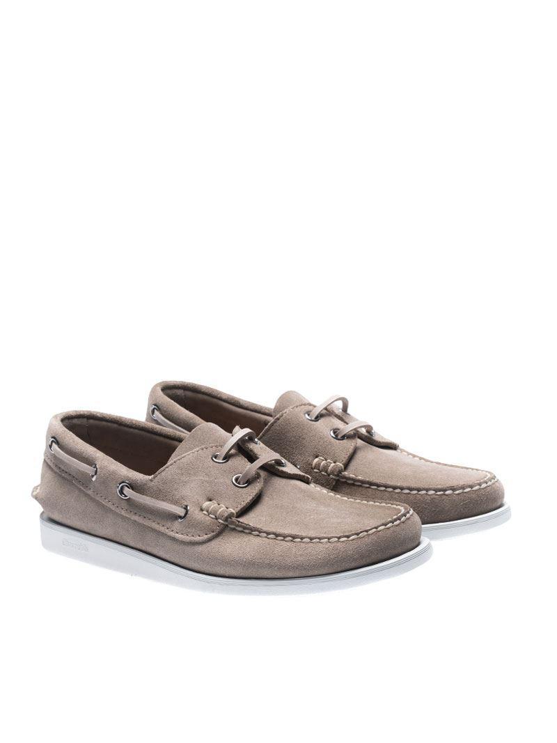 Marske grey dockside lace boat shoes Churchs utIwH