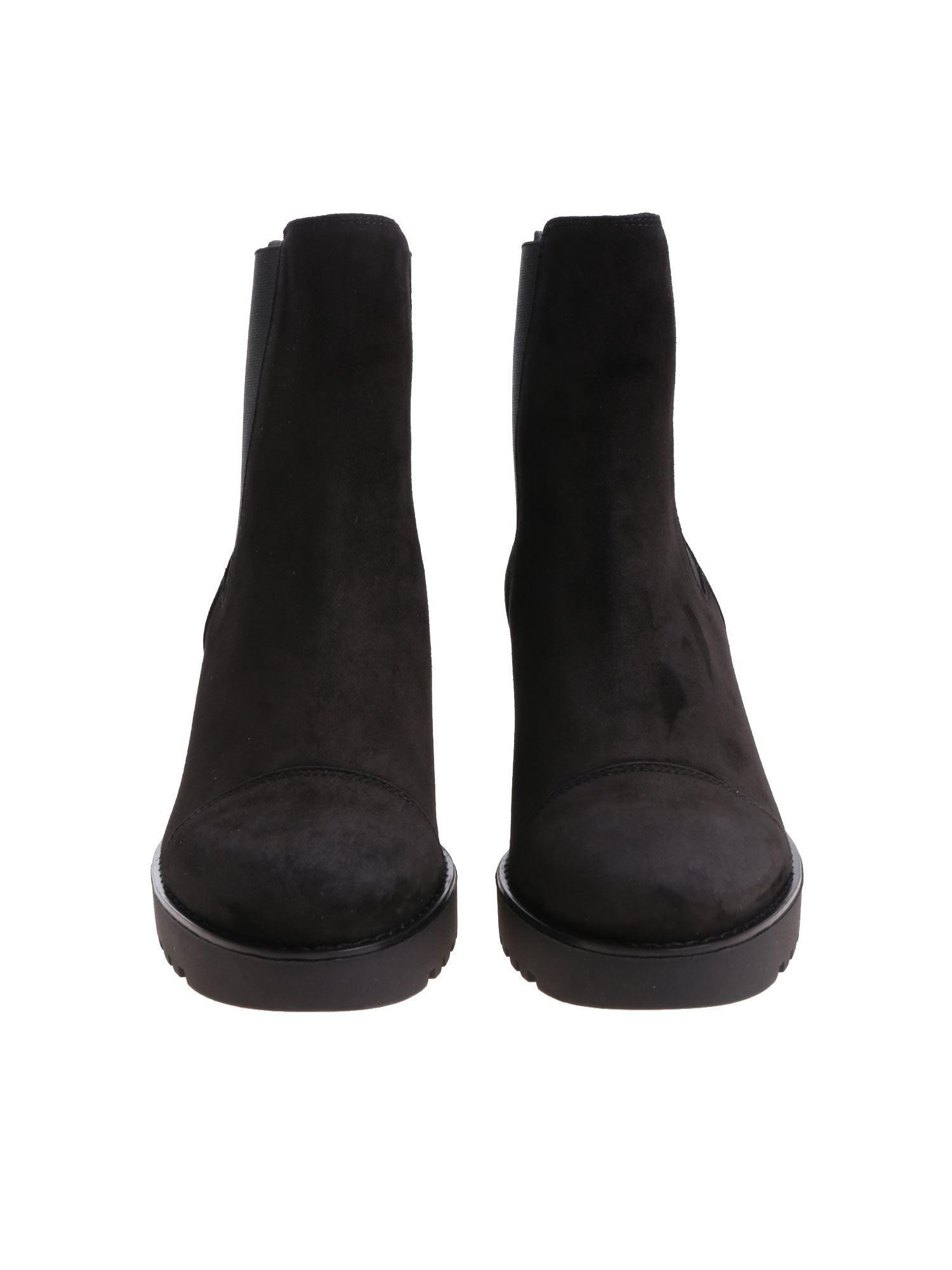 c51310aeff Hogan H277 Black Chelsea Ankle Boots in Black - Lyst