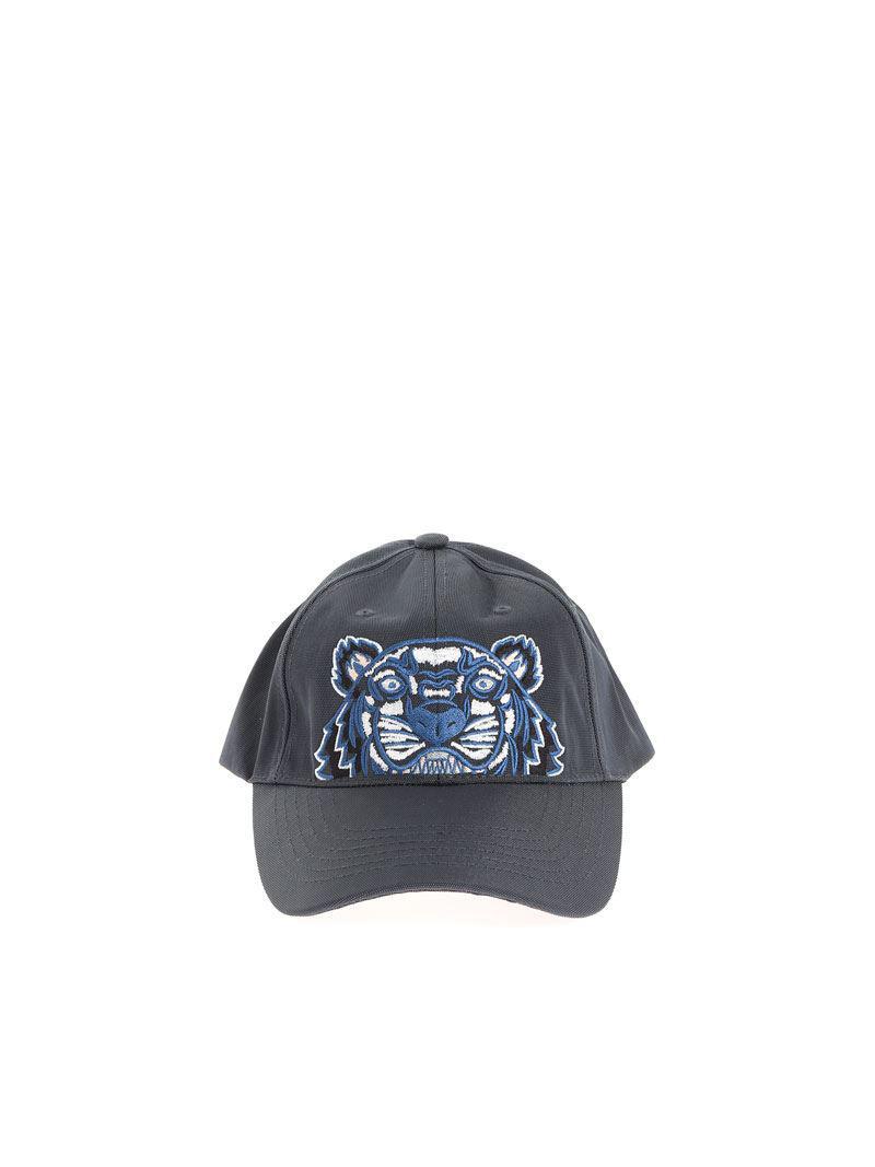 Lyst - Kenzo Tiger Cap in Blue for Men b201f73b3eda