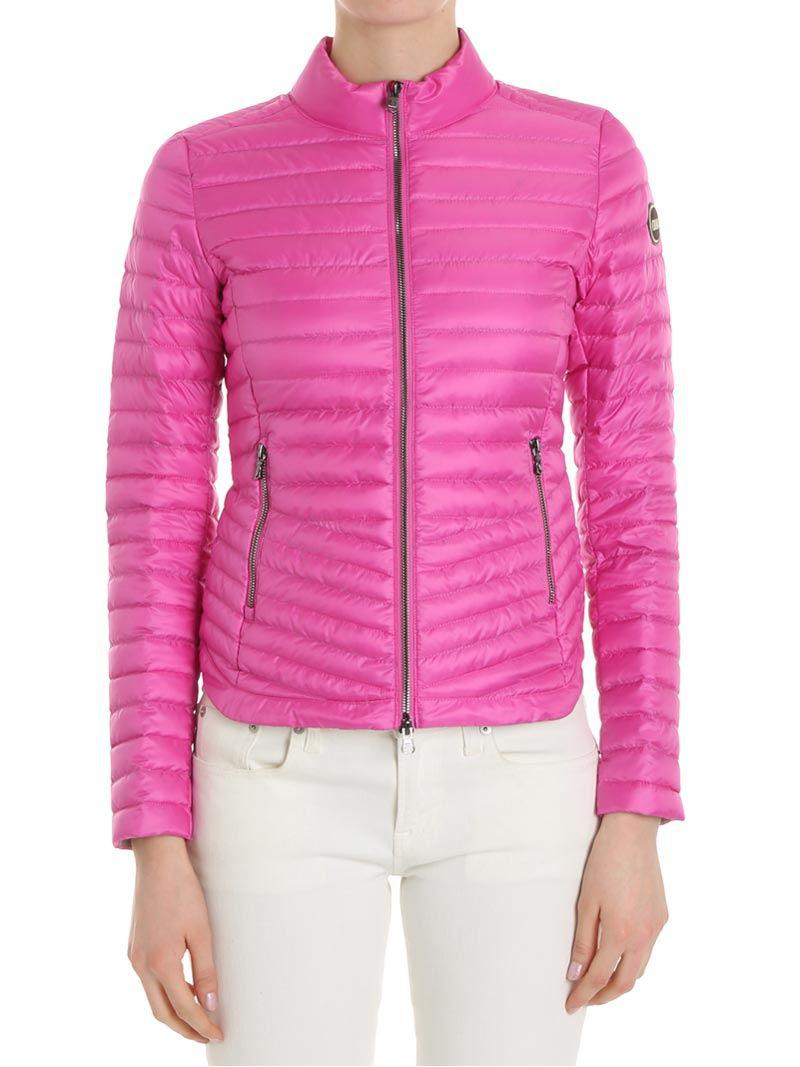 Pink down jacket with logo on the sleeve Colmar Countdown Package For Sale Cheap Sale Clearance piHwUQ9ecG
