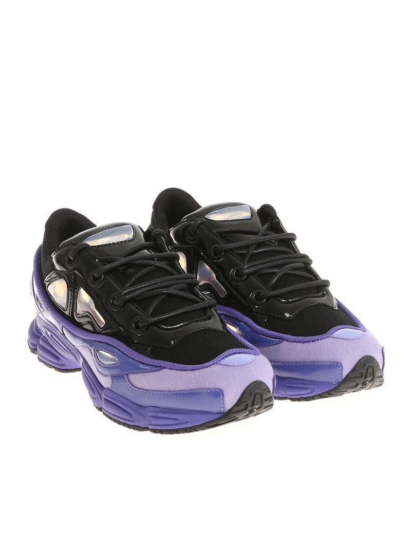 huge discount 549a7 41ae4 Violet Noir Sneaker Par Raf Rs Lyst Simons Et Ozweego Iii Ad