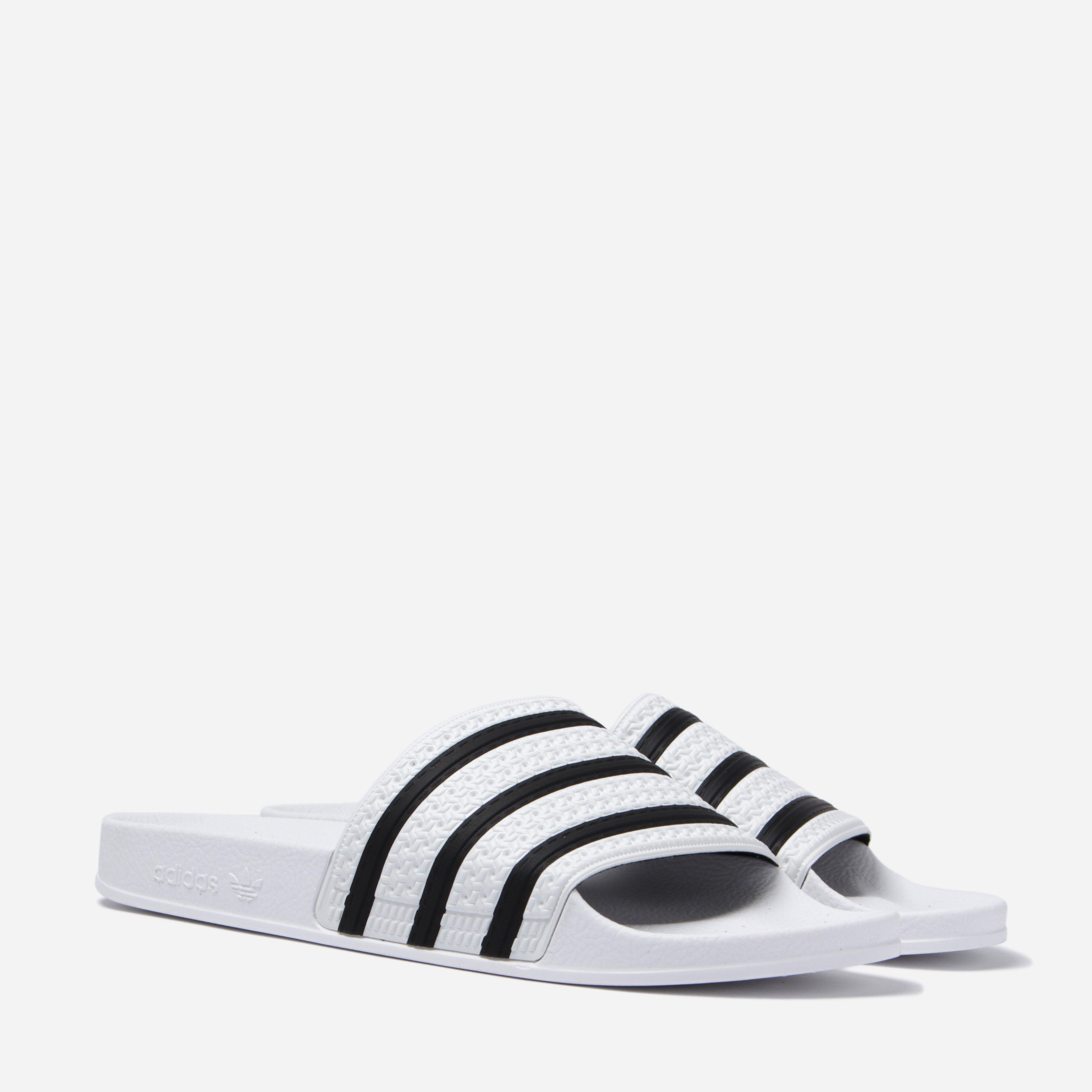 6d5dc66ca8c1 Lyst - adidas Originals 280648 Adilette Slides in White for Men