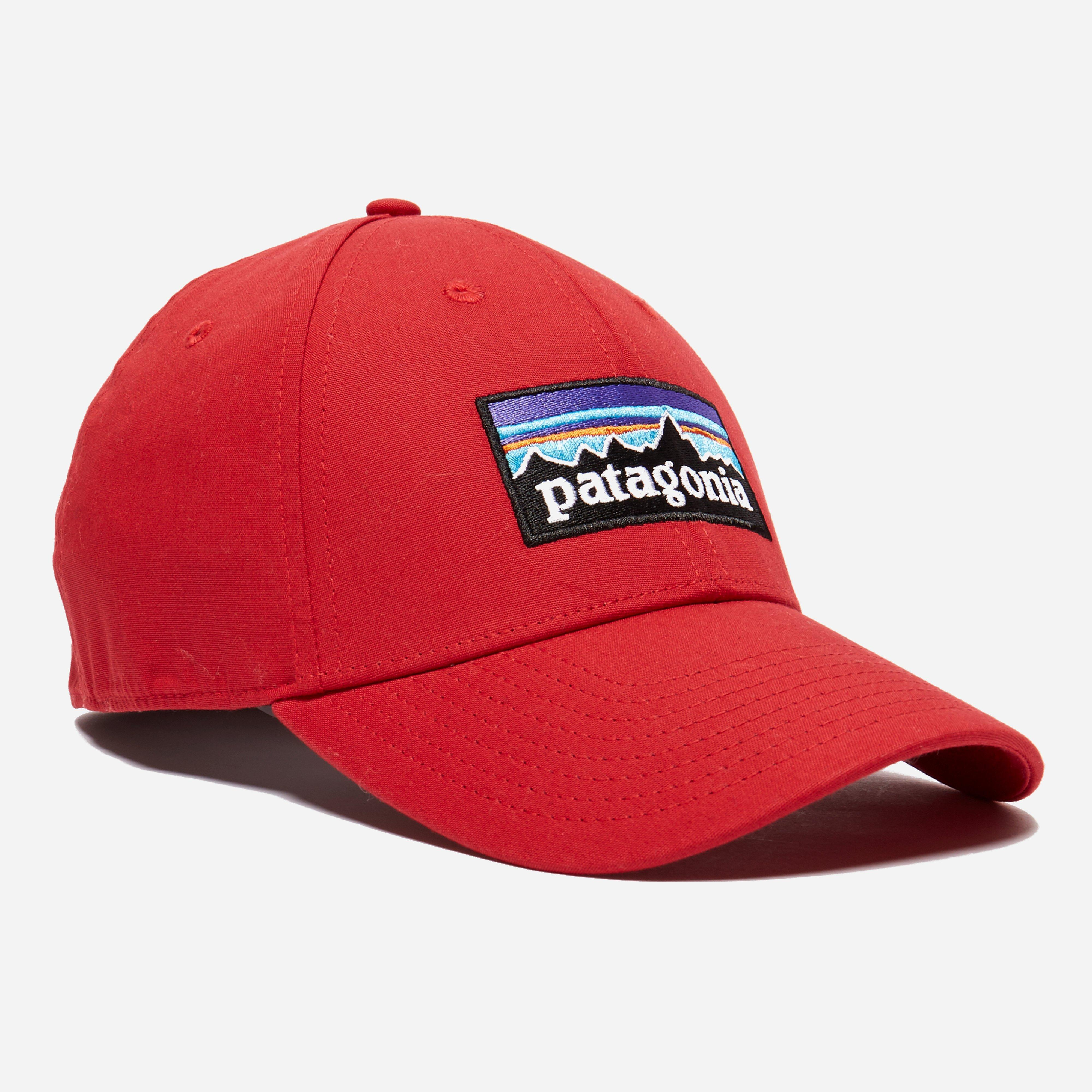 Lyst - Patagonia P-6 Logo Stretch Fit Hat in Red for Men f61658be252