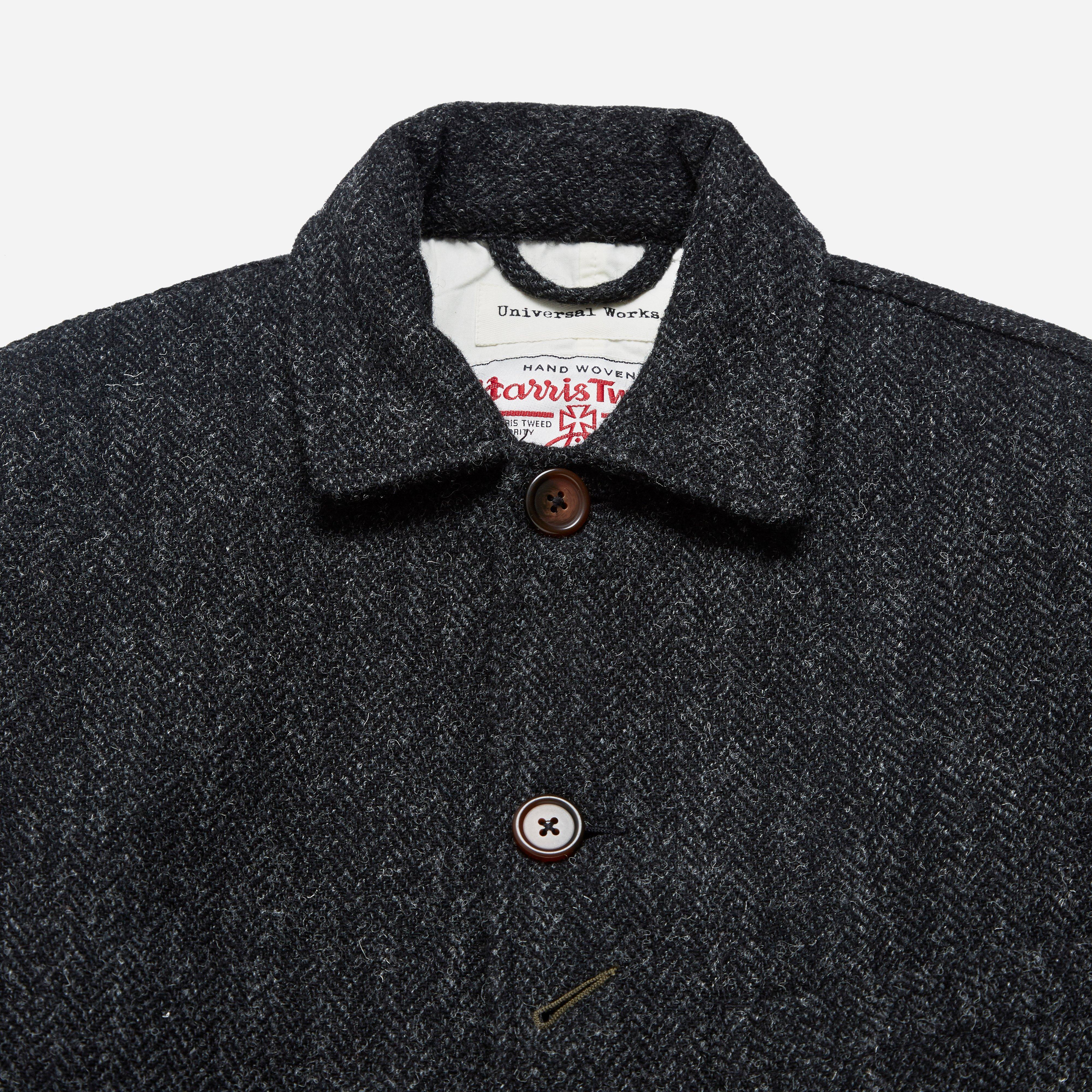 1cdddf928e288 Universal works harris tweed bakers chore jacket for men lyst jpg 4000x4000 Universal  works harris tweed