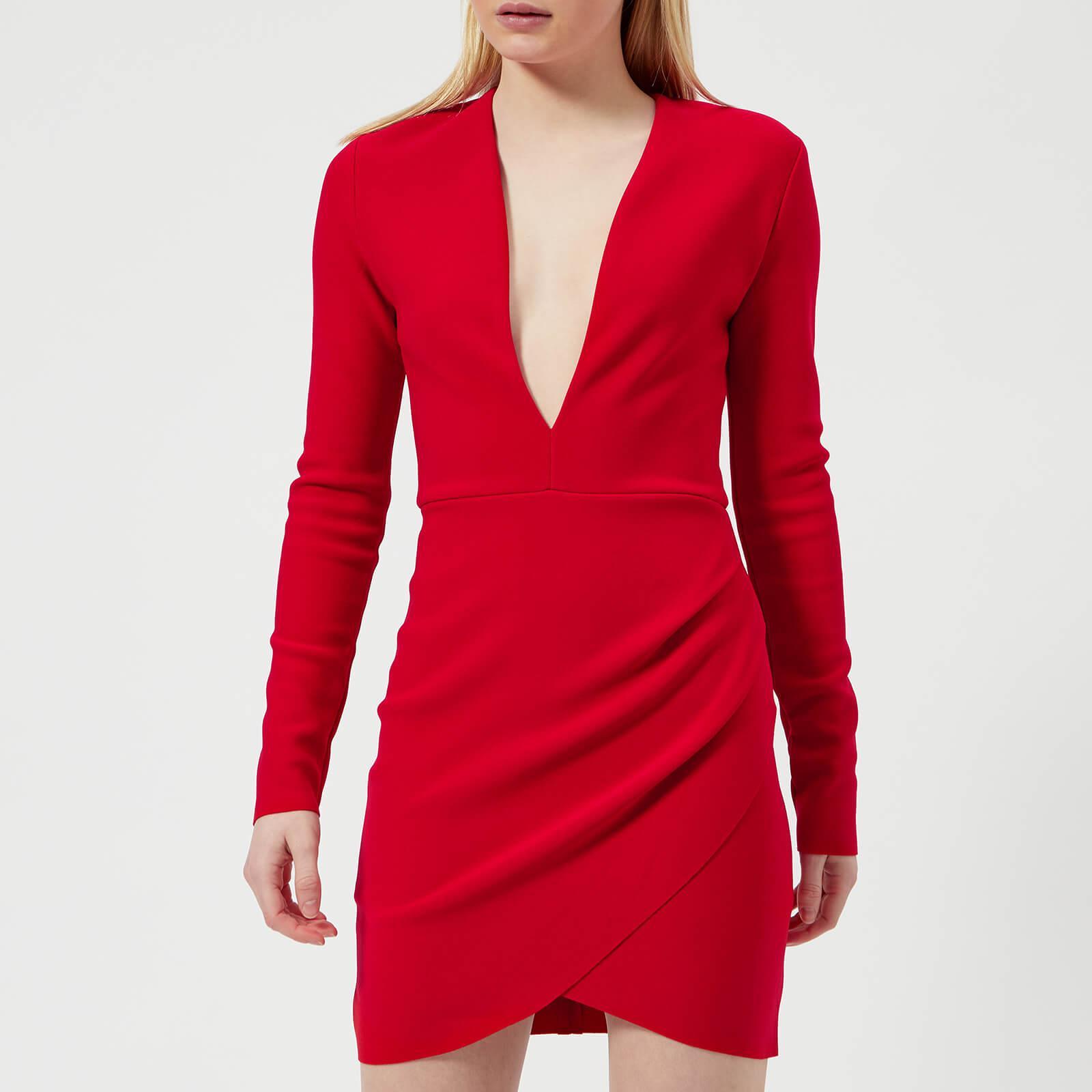 8e66b0f2dd82 Bec & Bridge Marvellous Plunge Dress in Red - Lyst