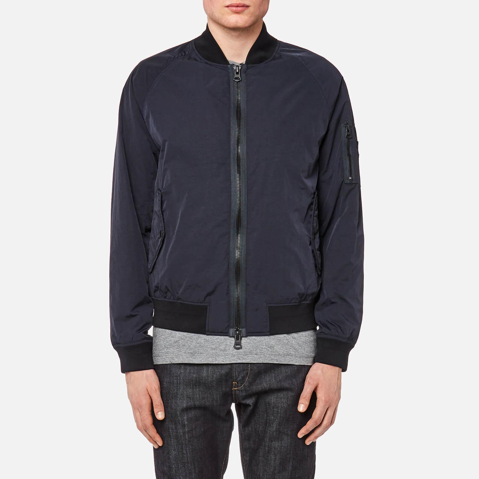 lyst boss orange onito d bomber jacket in blue for men. Black Bedroom Furniture Sets. Home Design Ideas