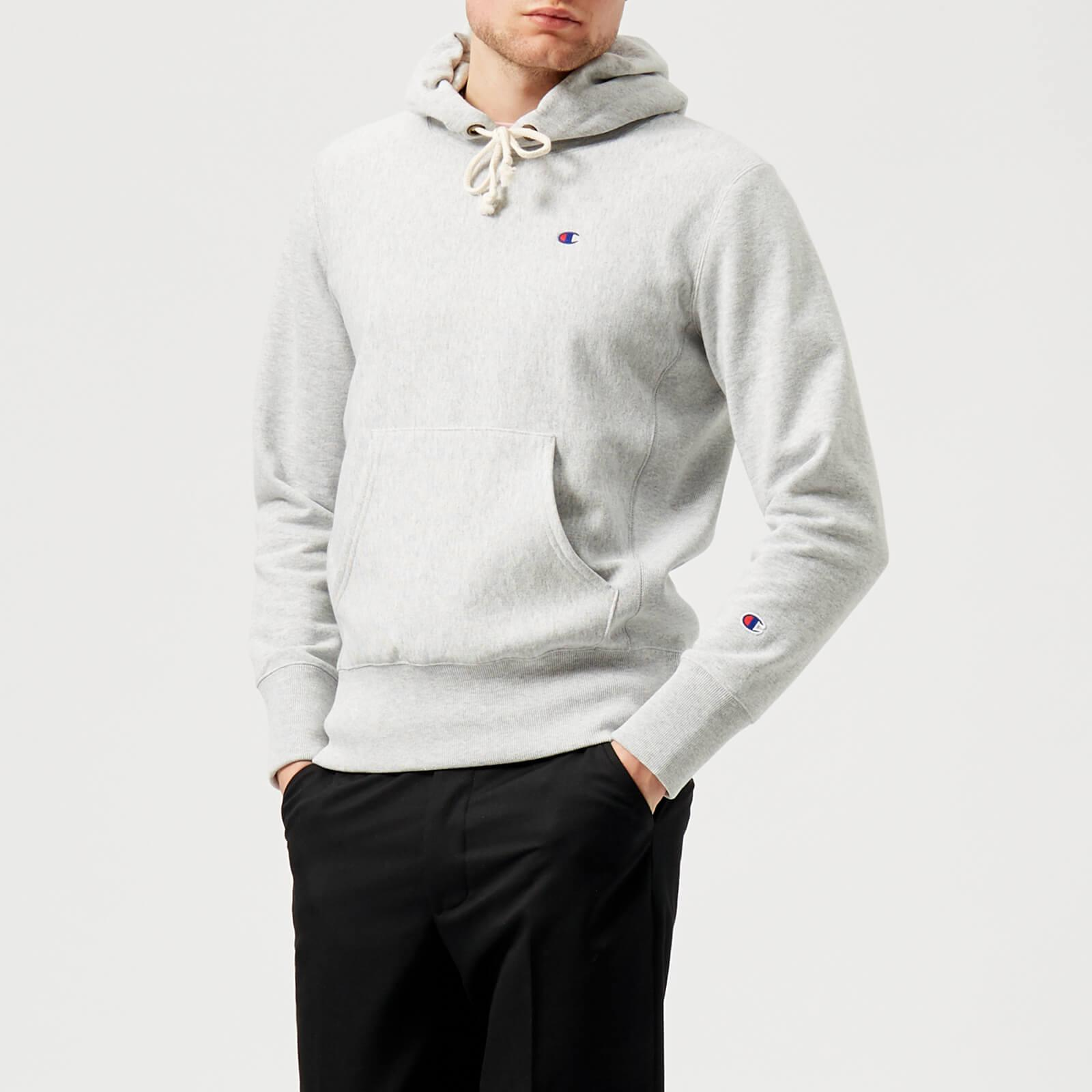 721f5554 Champion Classic Hoody in Gray for Men - Lyst