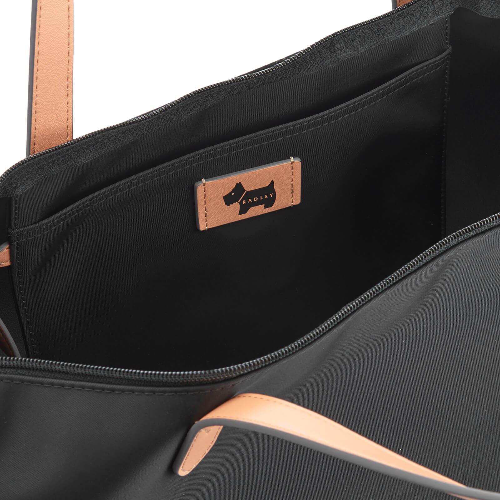450218a042 Radley - Black Pocket Essentials Large Zip Top Tote Bag - Lyst. View  fullscreen