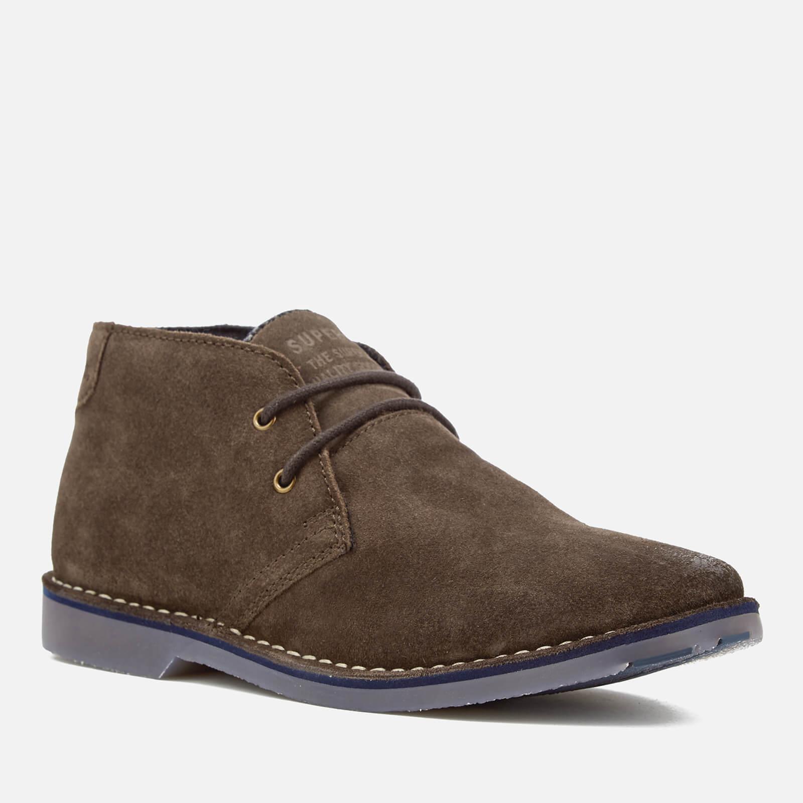 Superdry WINTER RALLIE - Chaussures à lacets marron clair 28hssiQH8L