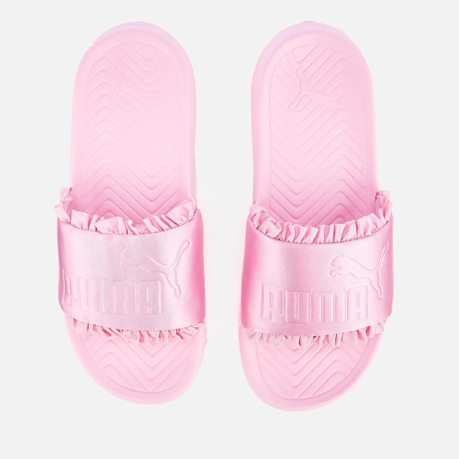 Lyst - PUMA Popcat Silk Slide Sandals in Pink 56bb354bd
