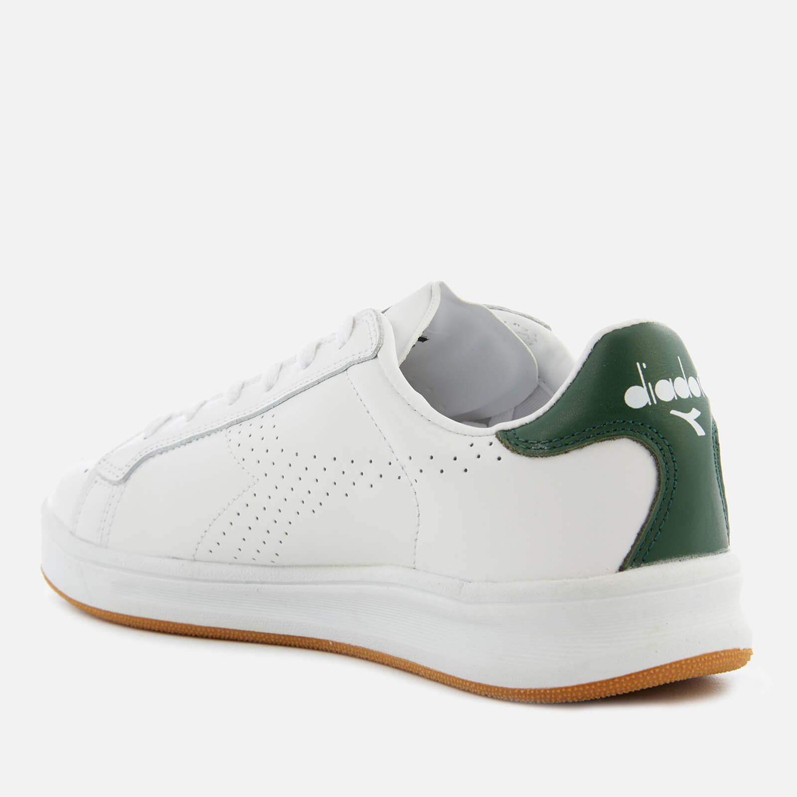 Sconto del 60% qualità eccellente vendita scontata Diadora Leather Martin Trainers in White/Green (White) for ...