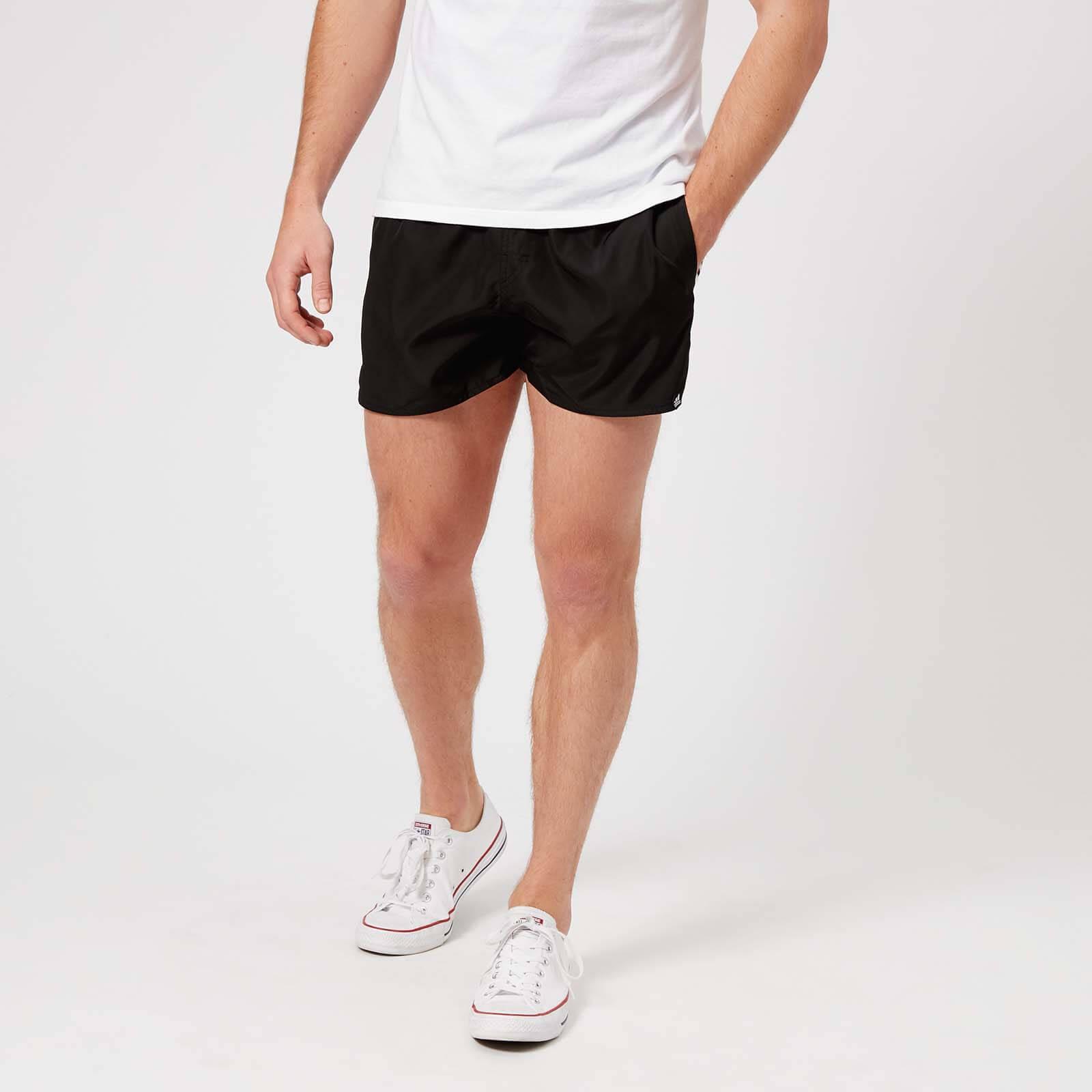 5cc92a0993 Lyst - adidas 3 Stripe Vsl Swim Shorts in Black for Men