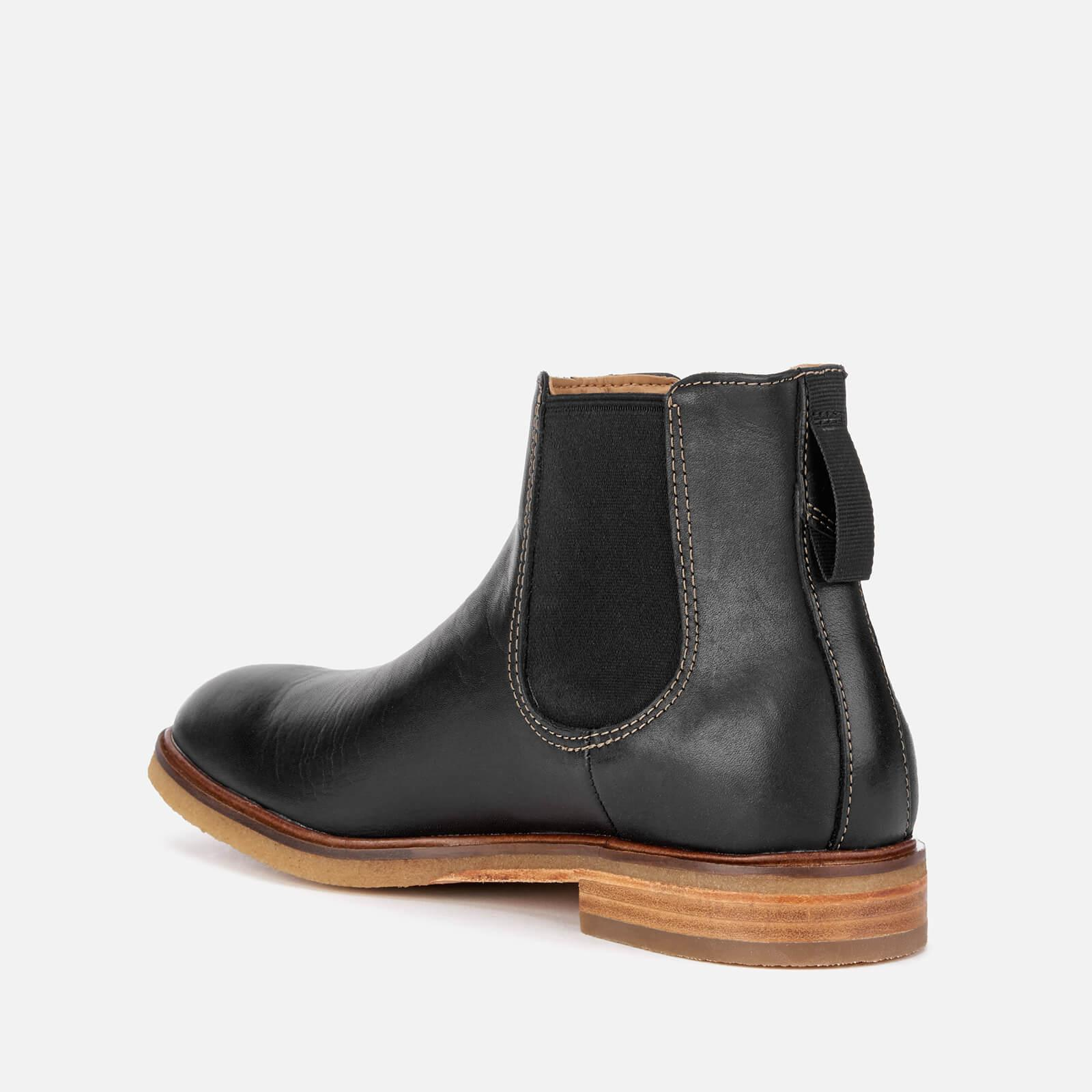 6a950a36c02735 Clarks - Black Clarkdale Gobi Leather Chelsea Boots for Men - Lyst. View  fullscreen