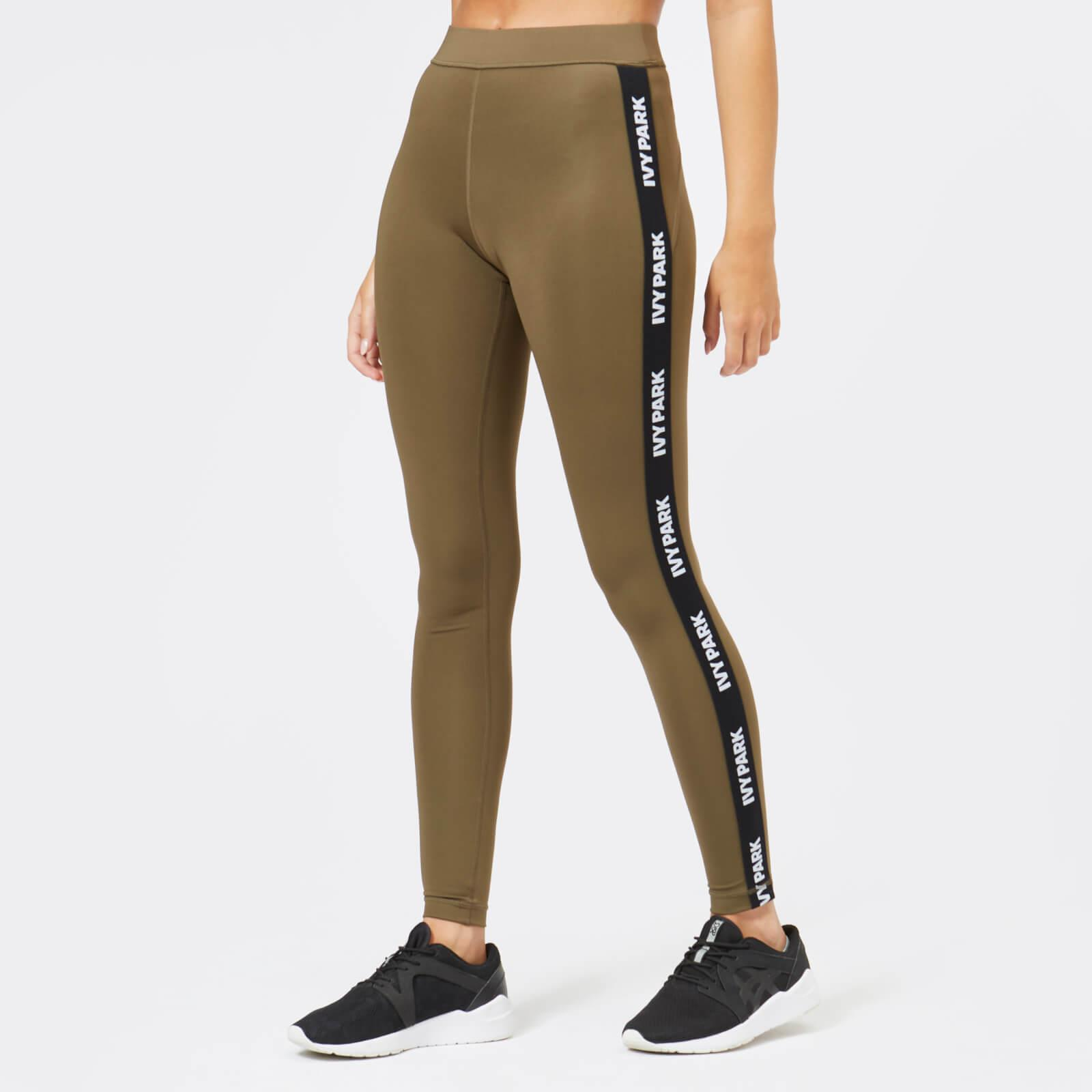 6c8b00ad3699 Ivy Park Active Logo Elastic Leggings in Green - Lyst
