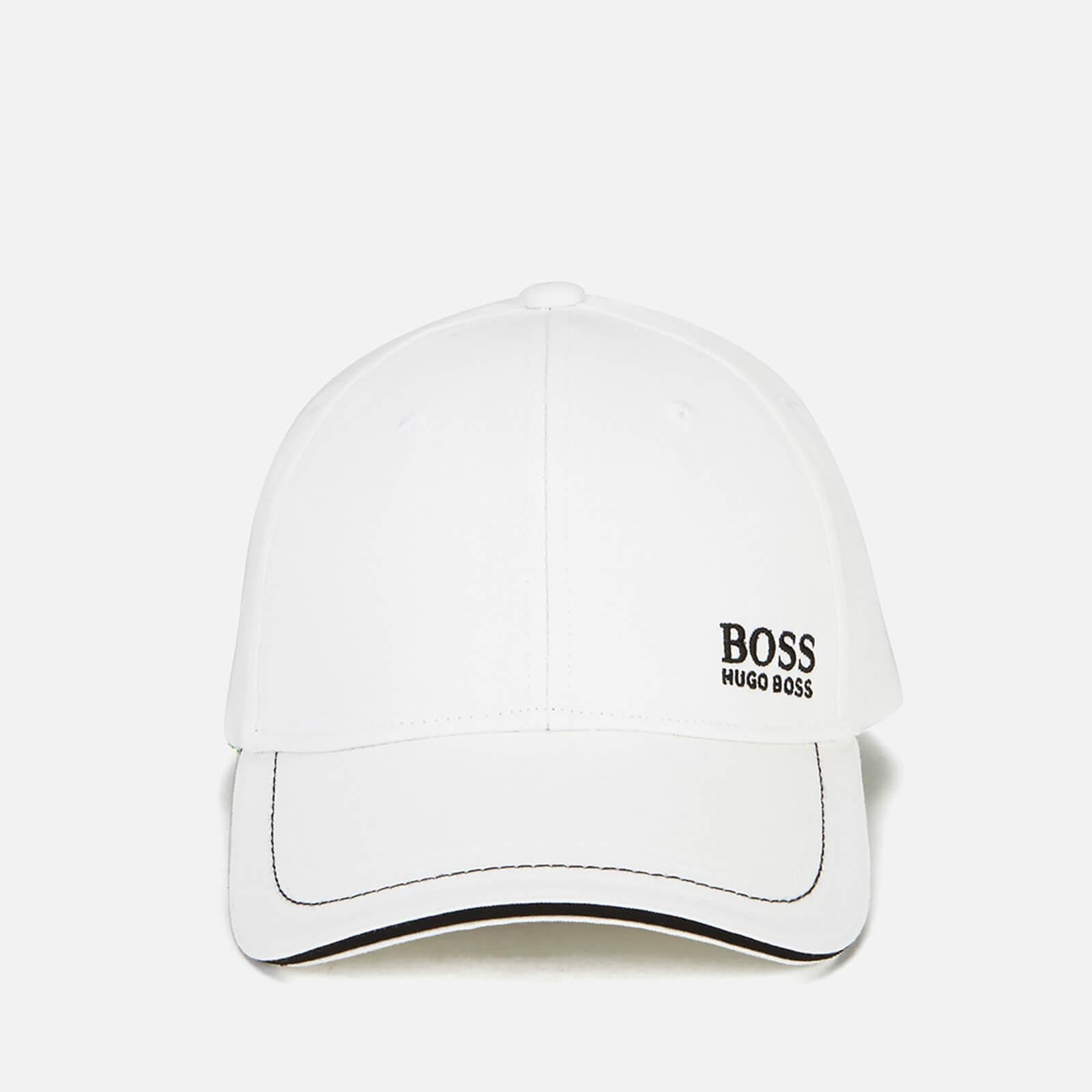 Boss Green Small Logo Cap in White for Men - Lyst 2f94eff5af0