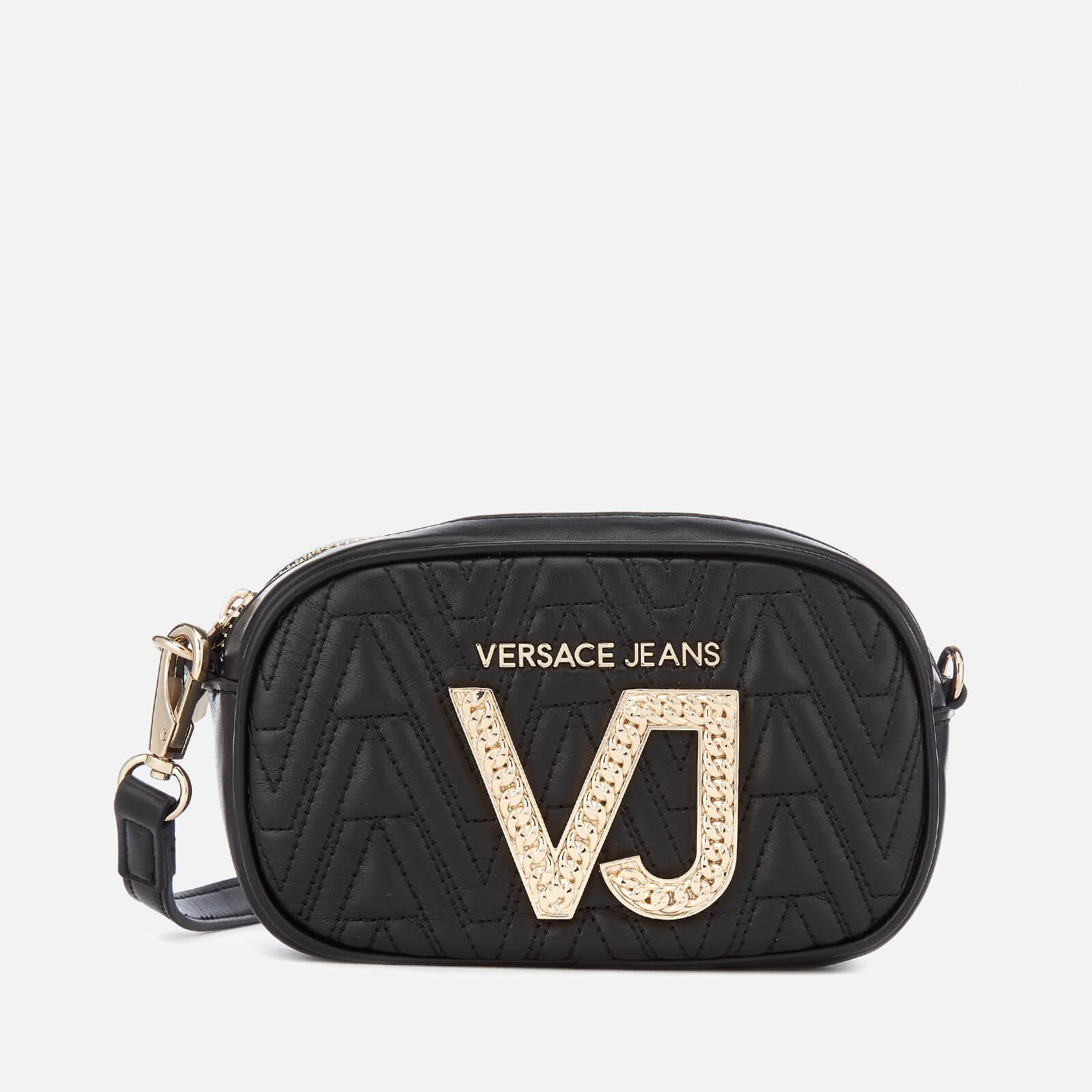 0ba719cf0533 Lyst - Versace Jeans Diamonte Vj Cross Body Bag in Black