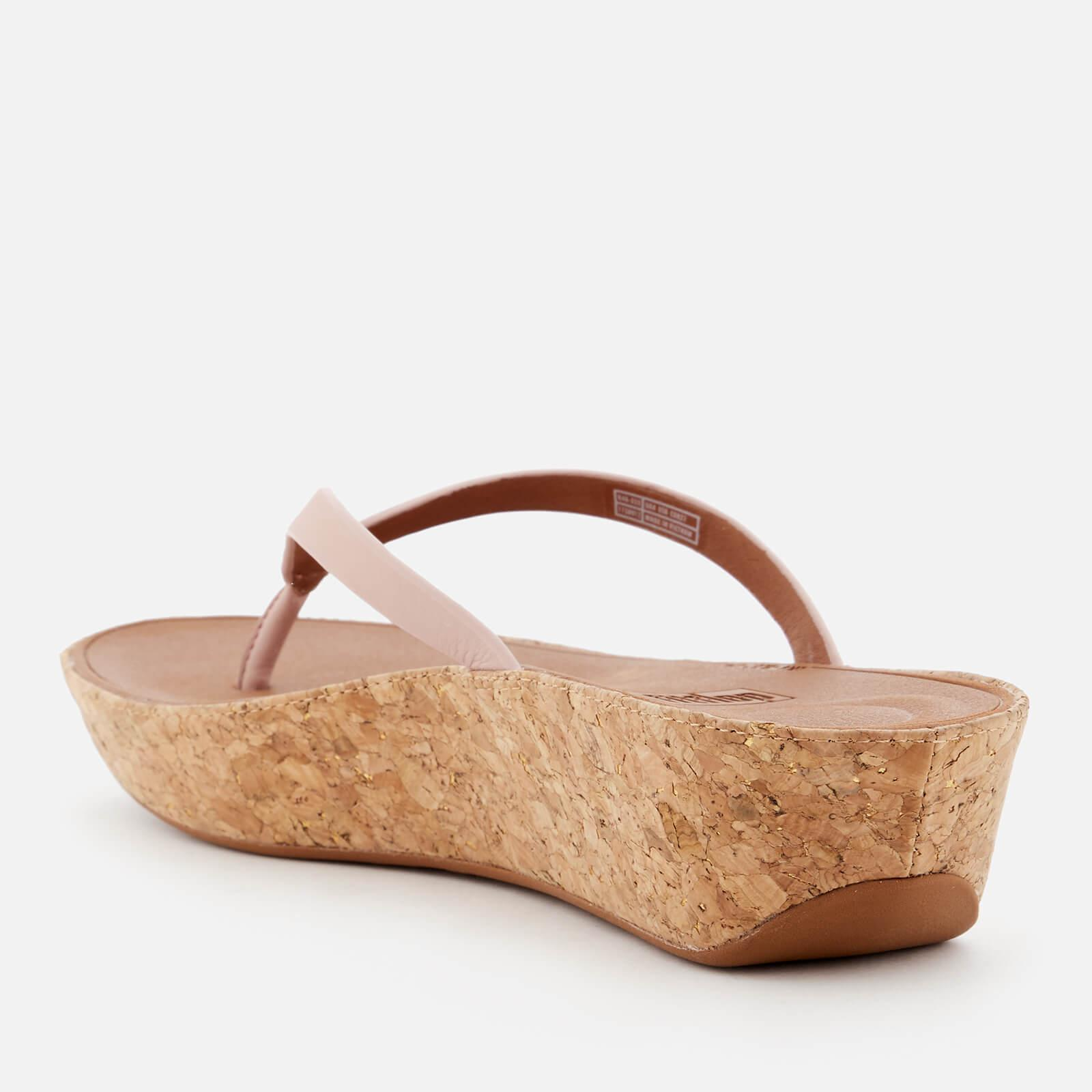 0724eb0c09e7 Fitflop - Pink Linny Wedged Toe Post Sandals - Lyst. View fullscreen