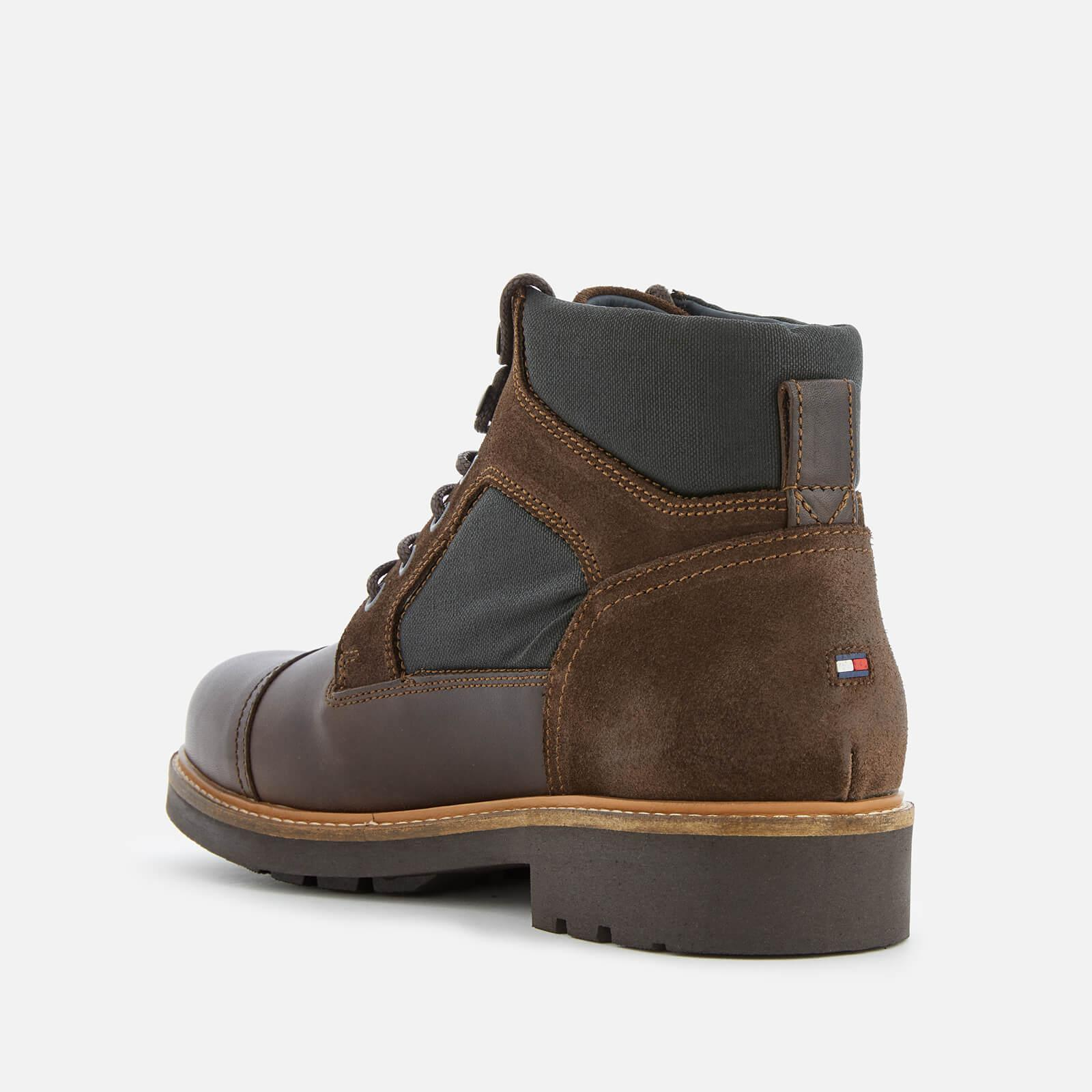 7019c15a8 Tommy Hilfiger - Brown Active Leather Lace-up Boots for Men - Lyst. View  fullscreen