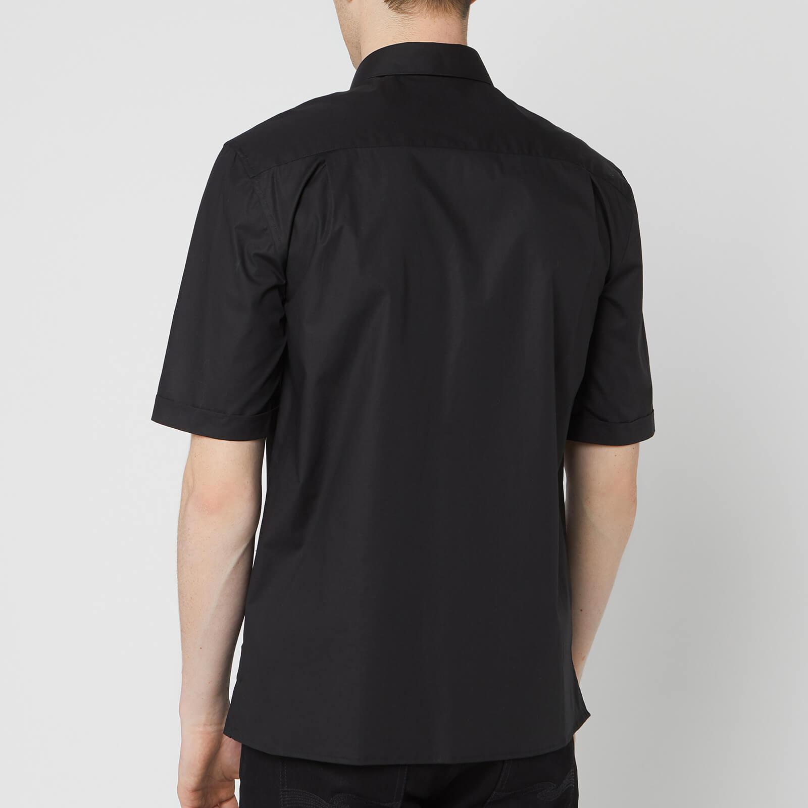 e0d9d445 Versace - Black Chest Medusa Shirt for Men - Lyst. View fullscreen