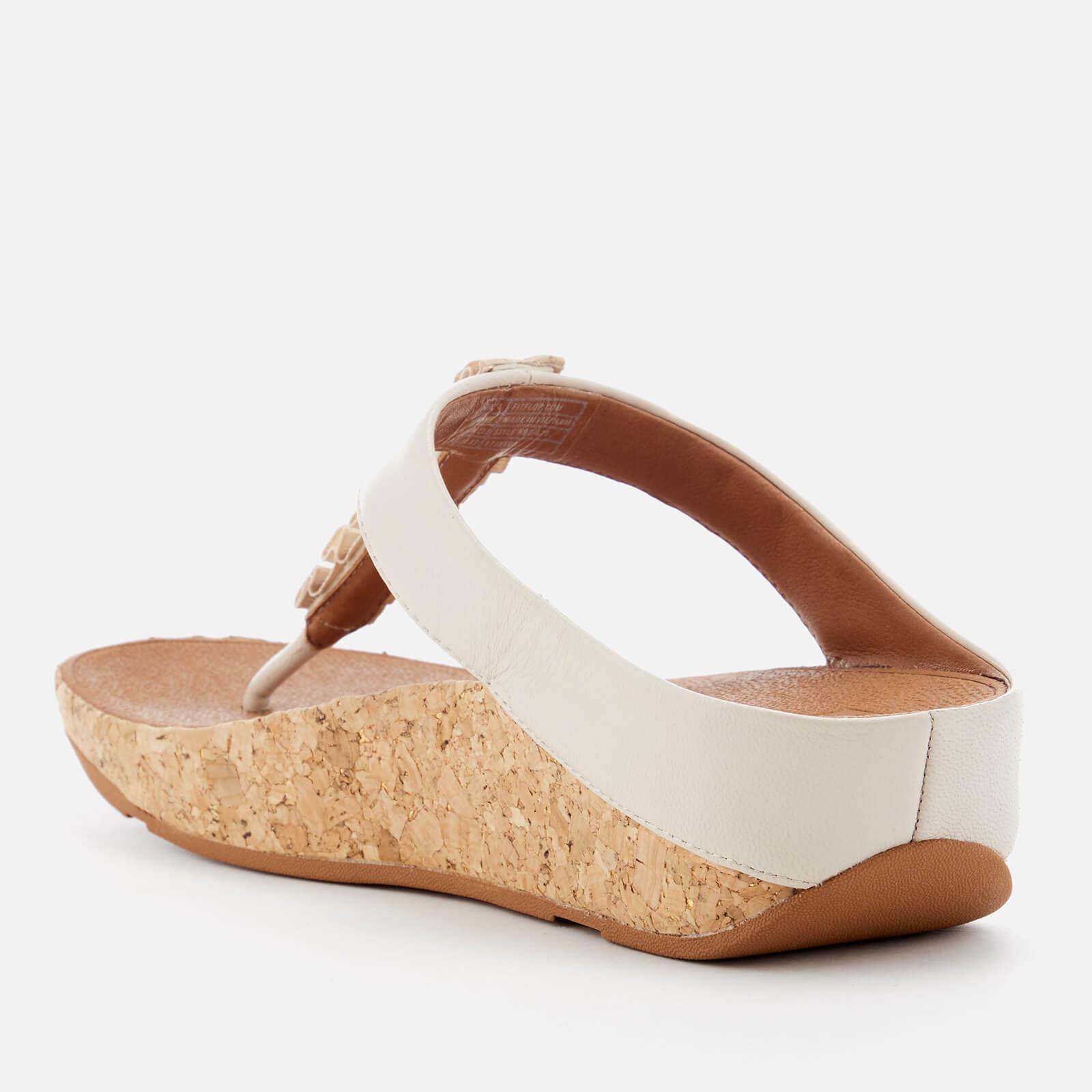 a9094f803dc7dd ... Fitflop - White Ruffle Toe Post Sandals - Lyst. View fullscreen cozy  fresh d8f16 60474 ...