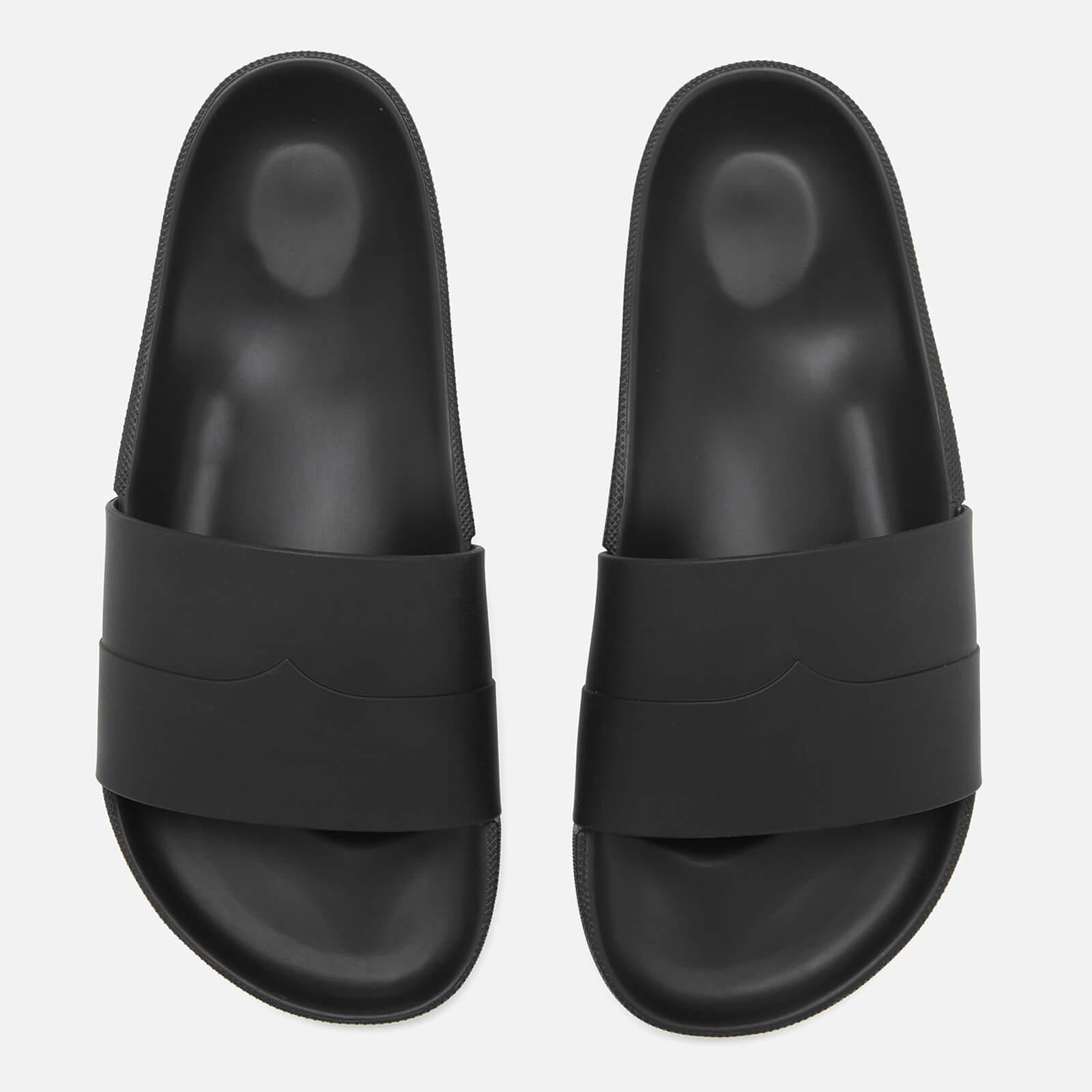 0afb87e4a6c3 Hunter Original Moustache Slide Sandals in Black for Men - Lyst