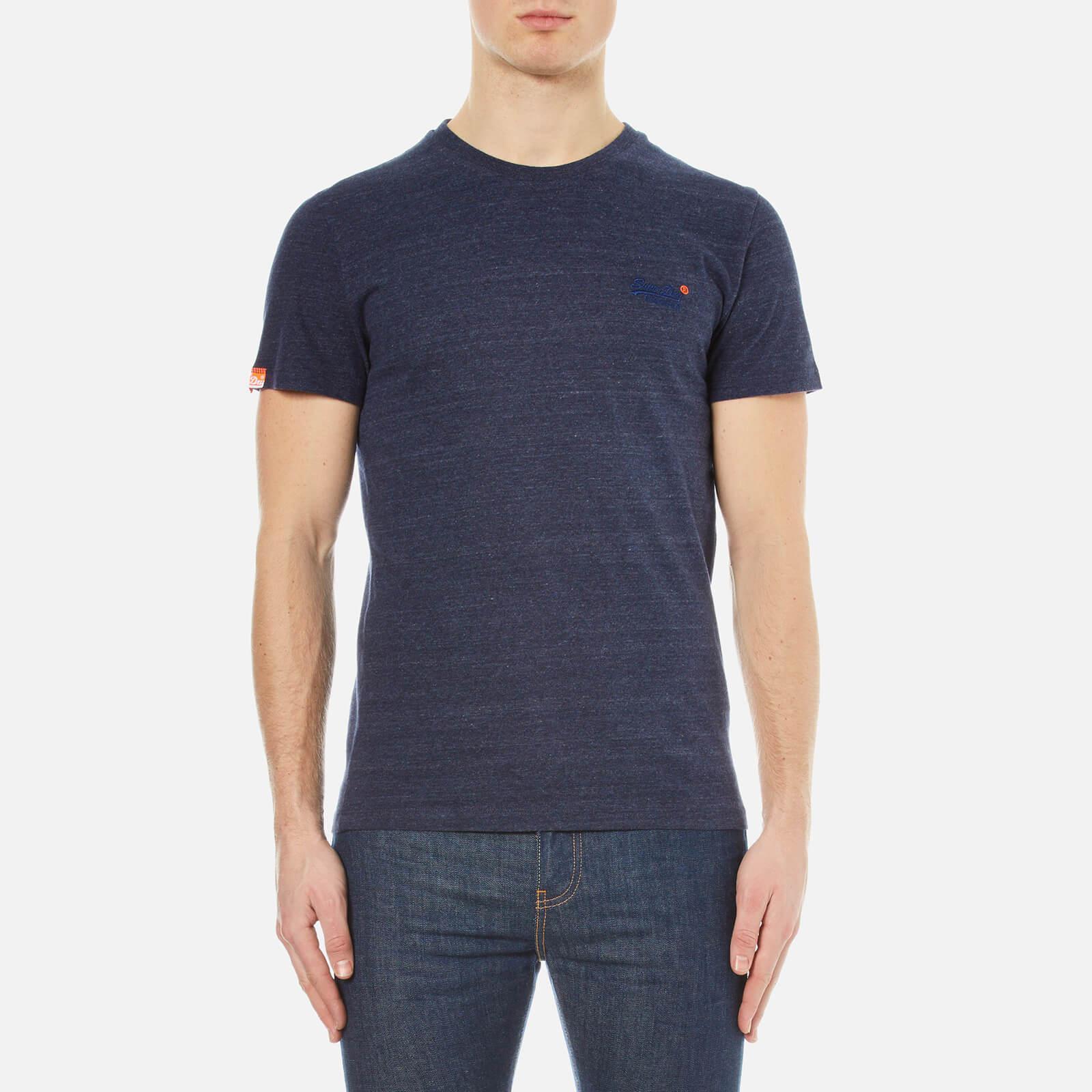 Lyst superdry orange label vintage embroidered t shirt