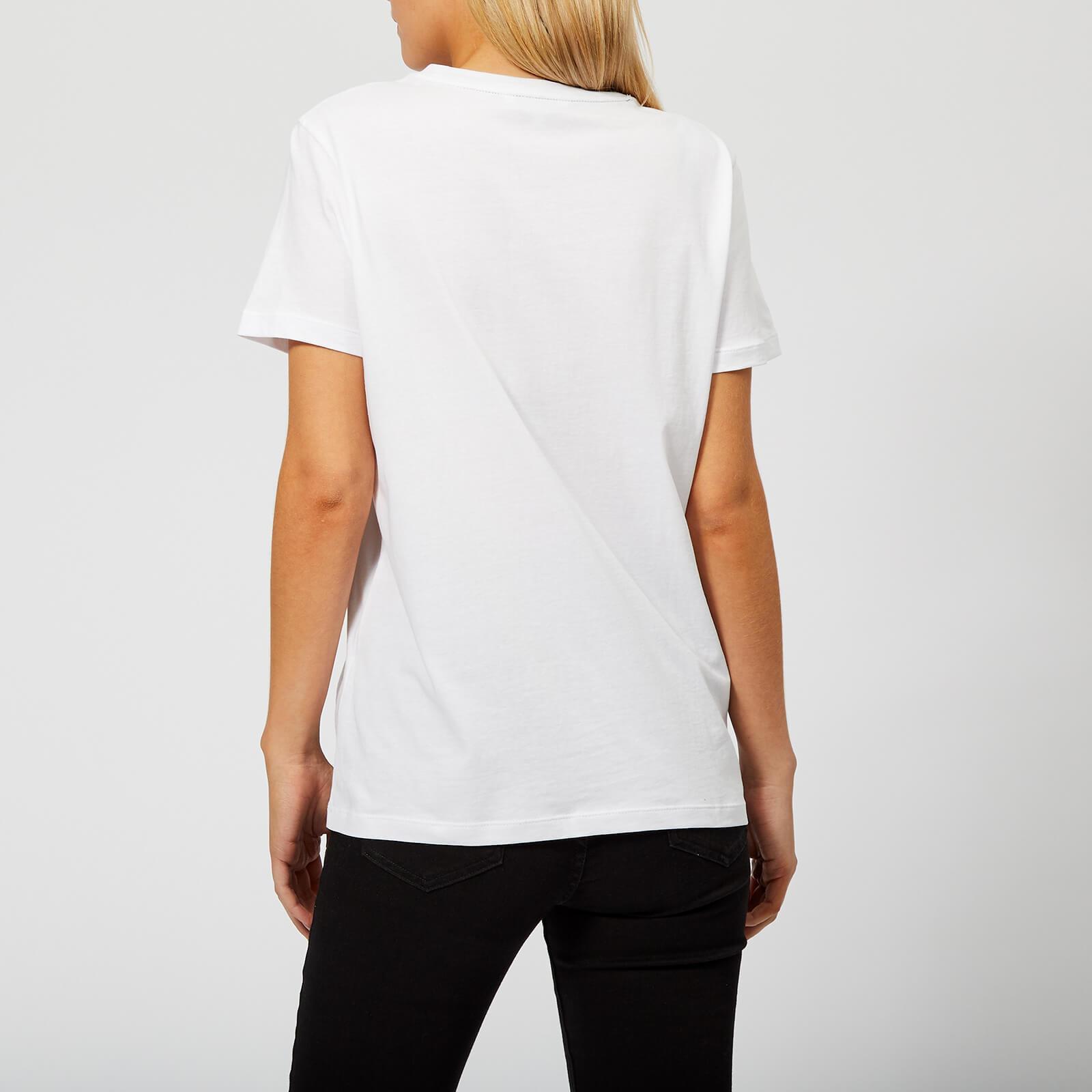 2ac096470 Tommy Hilfiger - White Merina Crew Neck T-shirt - Lyst. View fullscreen