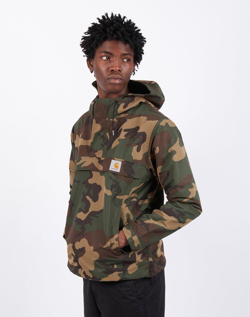 17f2c847763 Lyst - Carhartt WIP Nimbus Pullover Jacket Camo Laurel in Green for ...