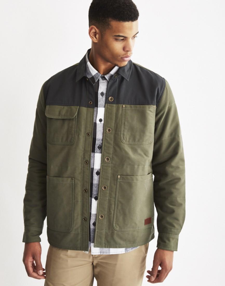 Vans Gable Jacket Green In Green For Men | Lyst