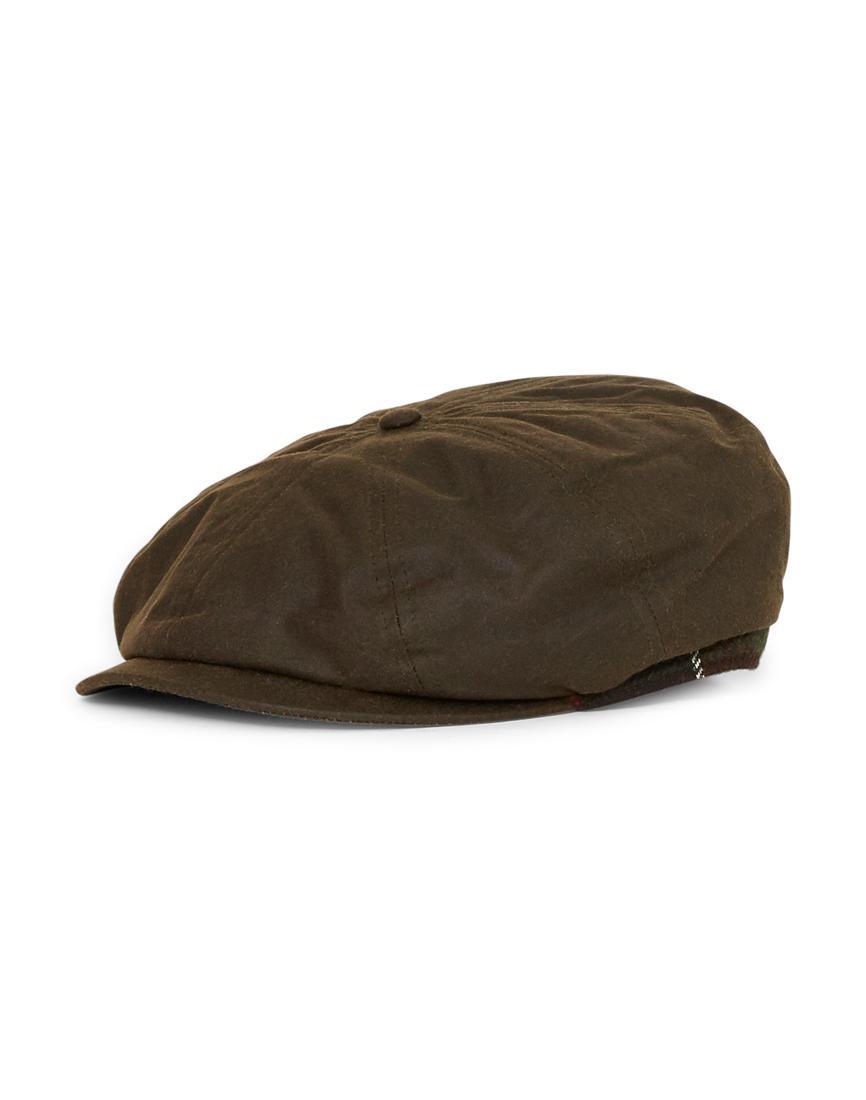 588ae5b95b5 Barbour Guillemot Bakerboy Hat Green in Green for Men - Lyst