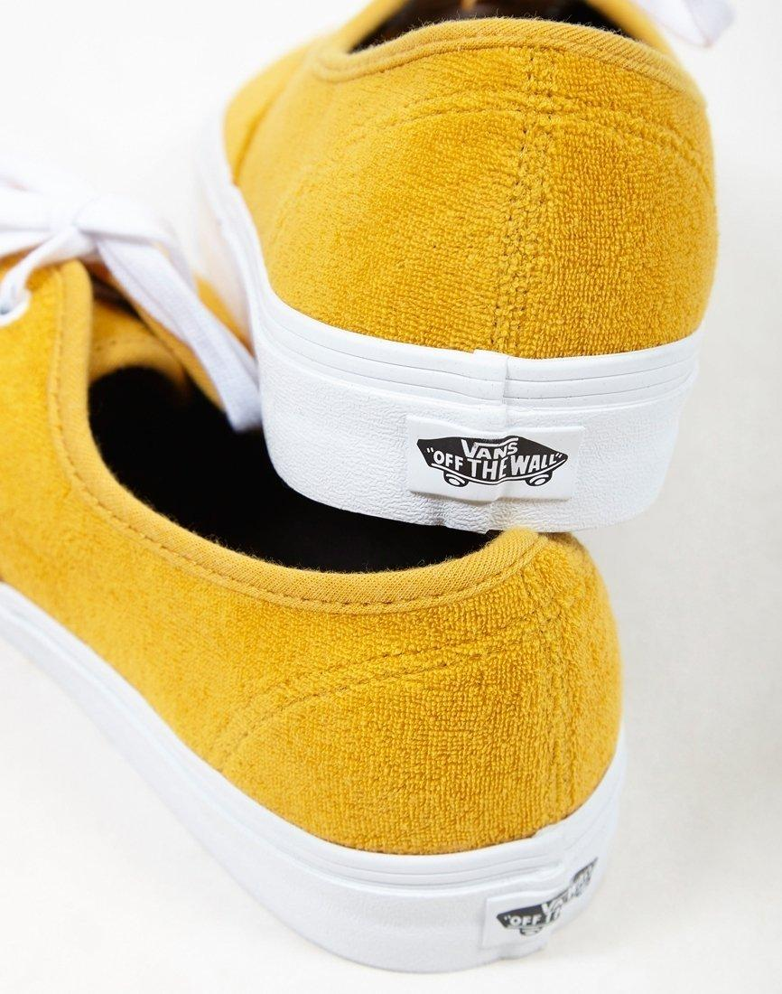 a2e1ed464e Lyst - Vans Authentic Terry Plimsolls Yellow in Yellow for Men - Save 16%