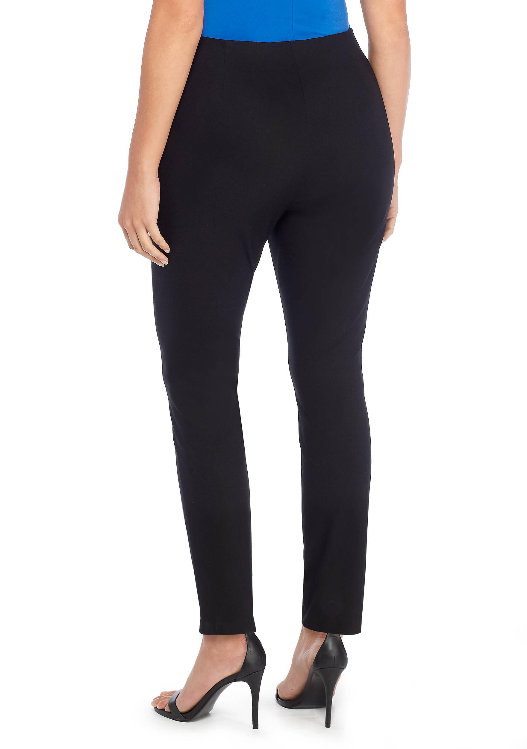 f61328d0237 The Limited - Black Plus Size Signature Pull-on Skinny Pant In Exact Stretch  -. View fullscreen