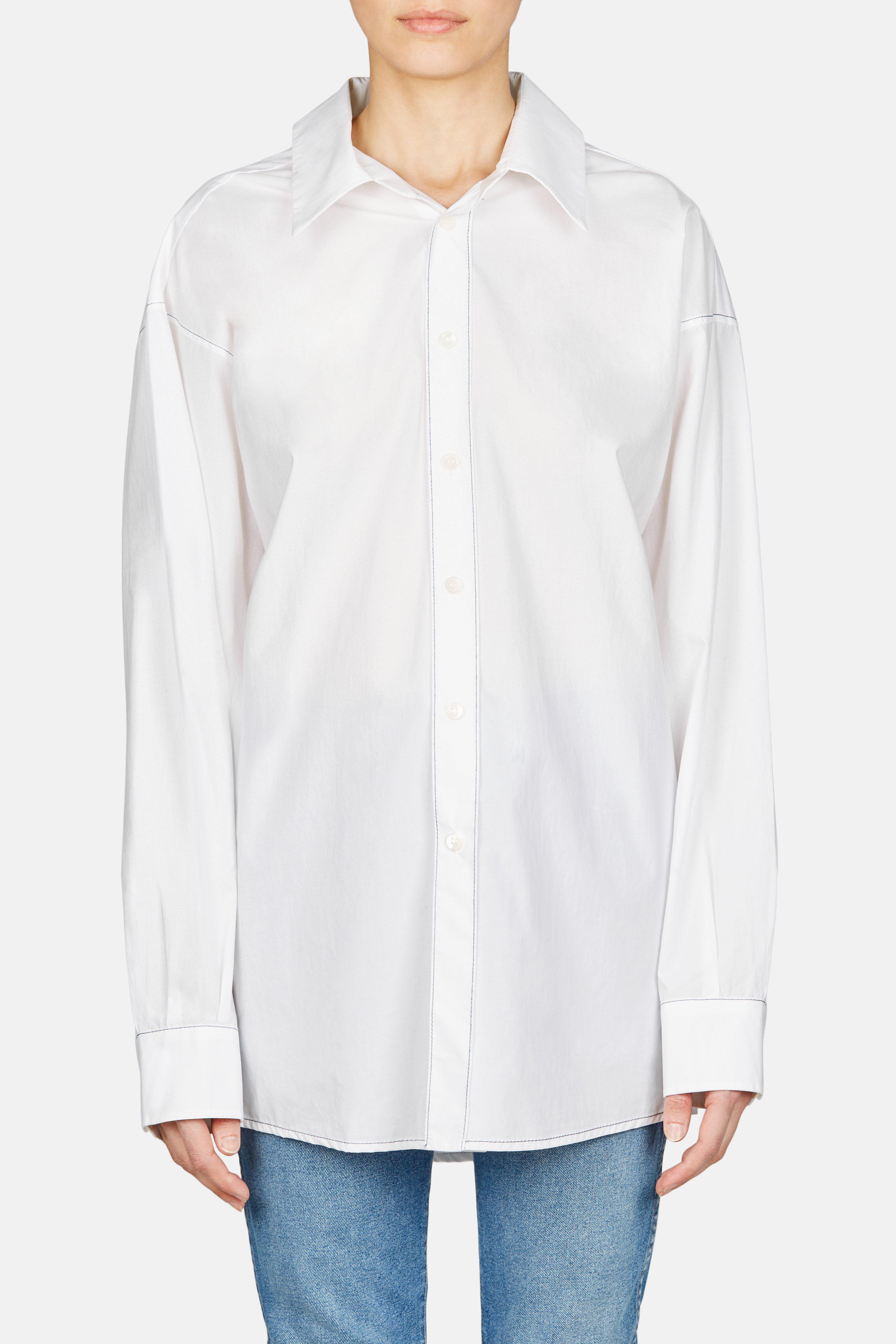 oversized neckline shirt - White Marni Buy Online New A3z0SZhej