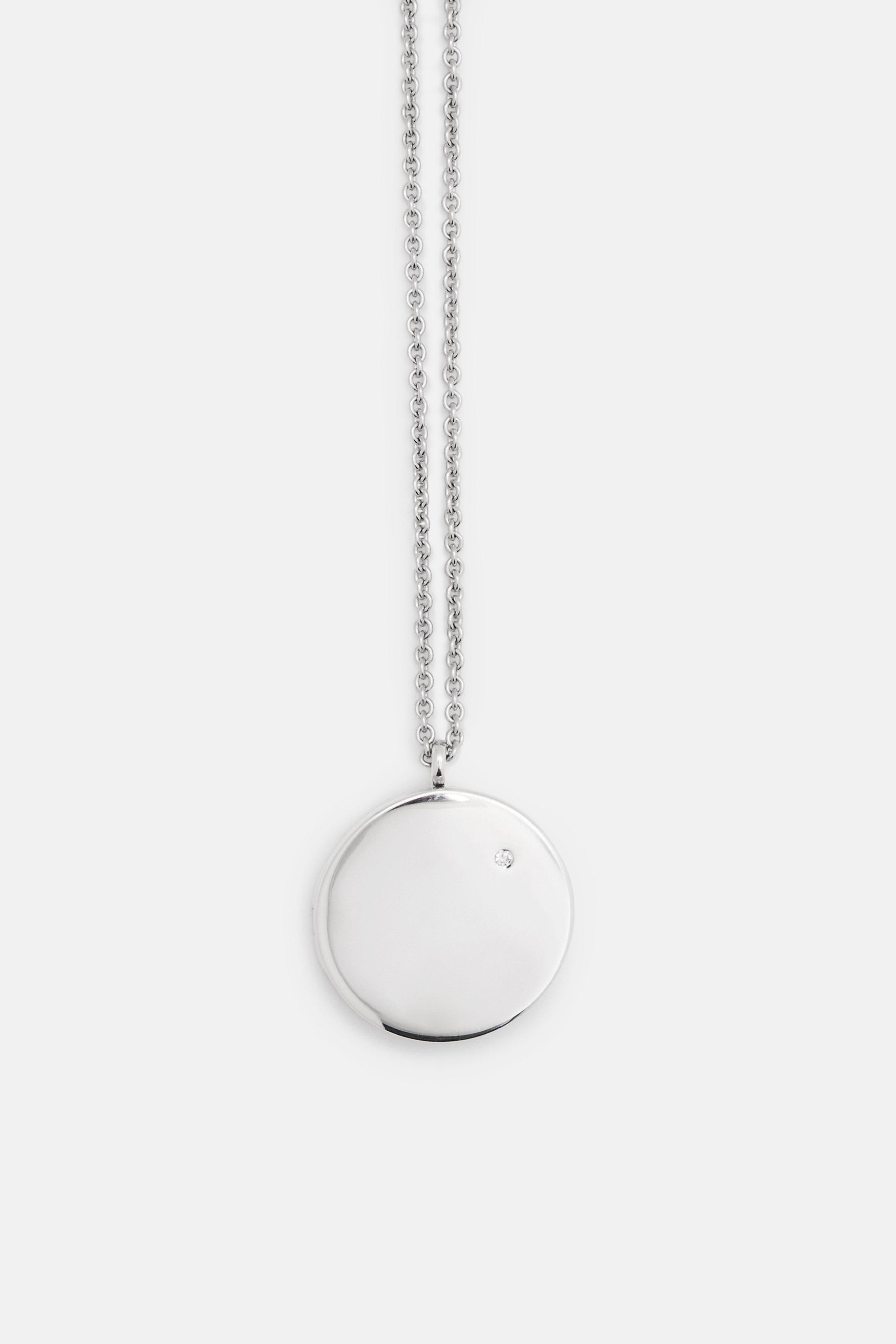 locket silver lockets product wid teardrop sterling