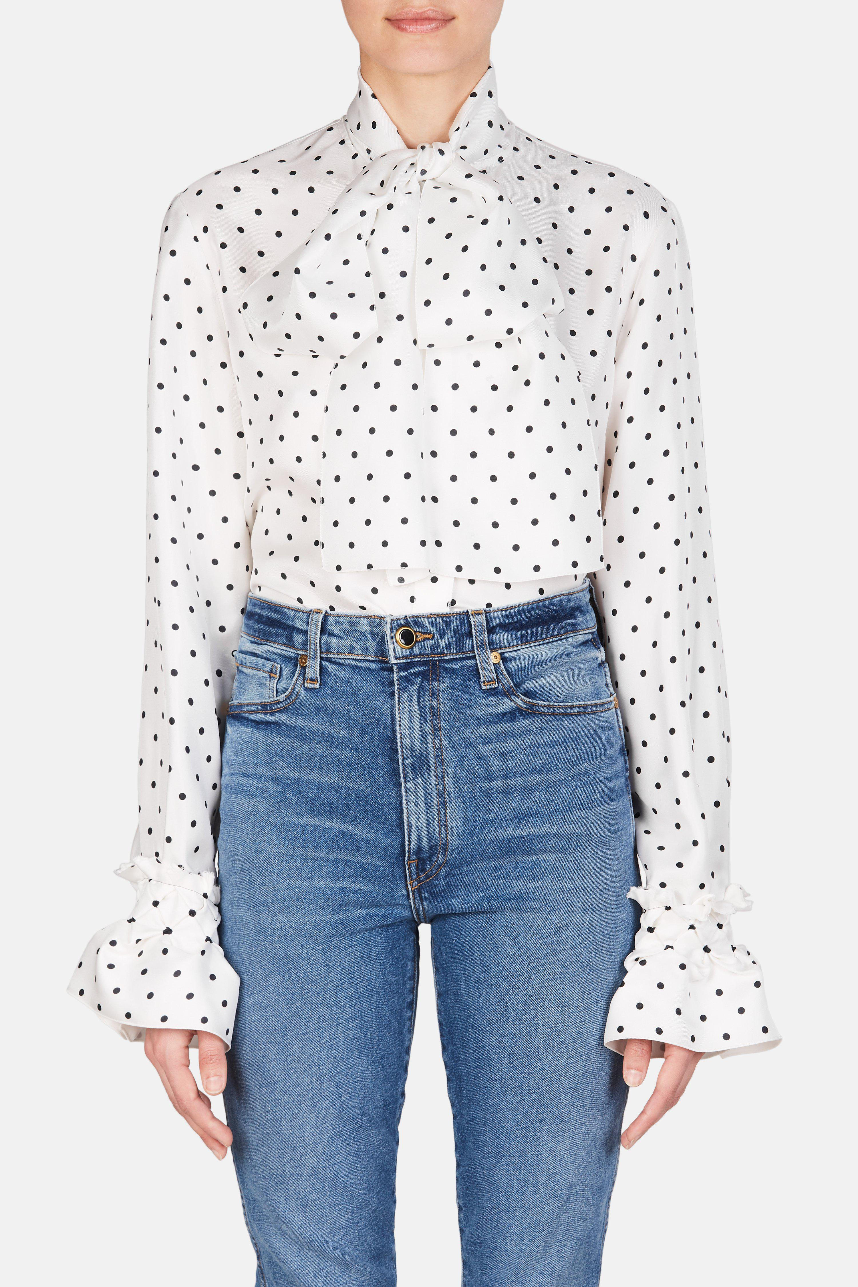 For Sale Extremely Sale Online Loewe Lavalliere blouse Buy Cheap Exclusive Free Shipping Cost Finishline Cheap Online l40ePi