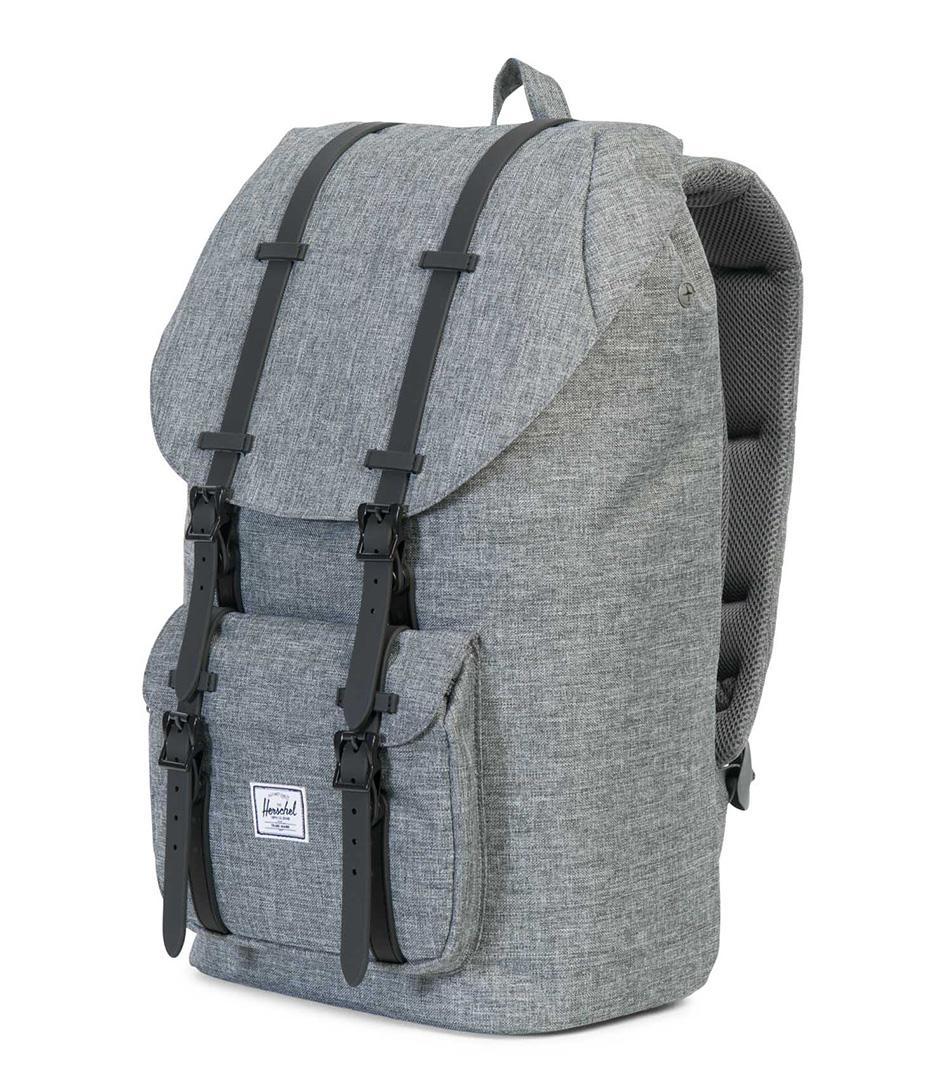Herschel Supply Co. - Gray Little America Backpack In Grey 25l - Lyst. View  fullscreen 6cb2e8b676a93