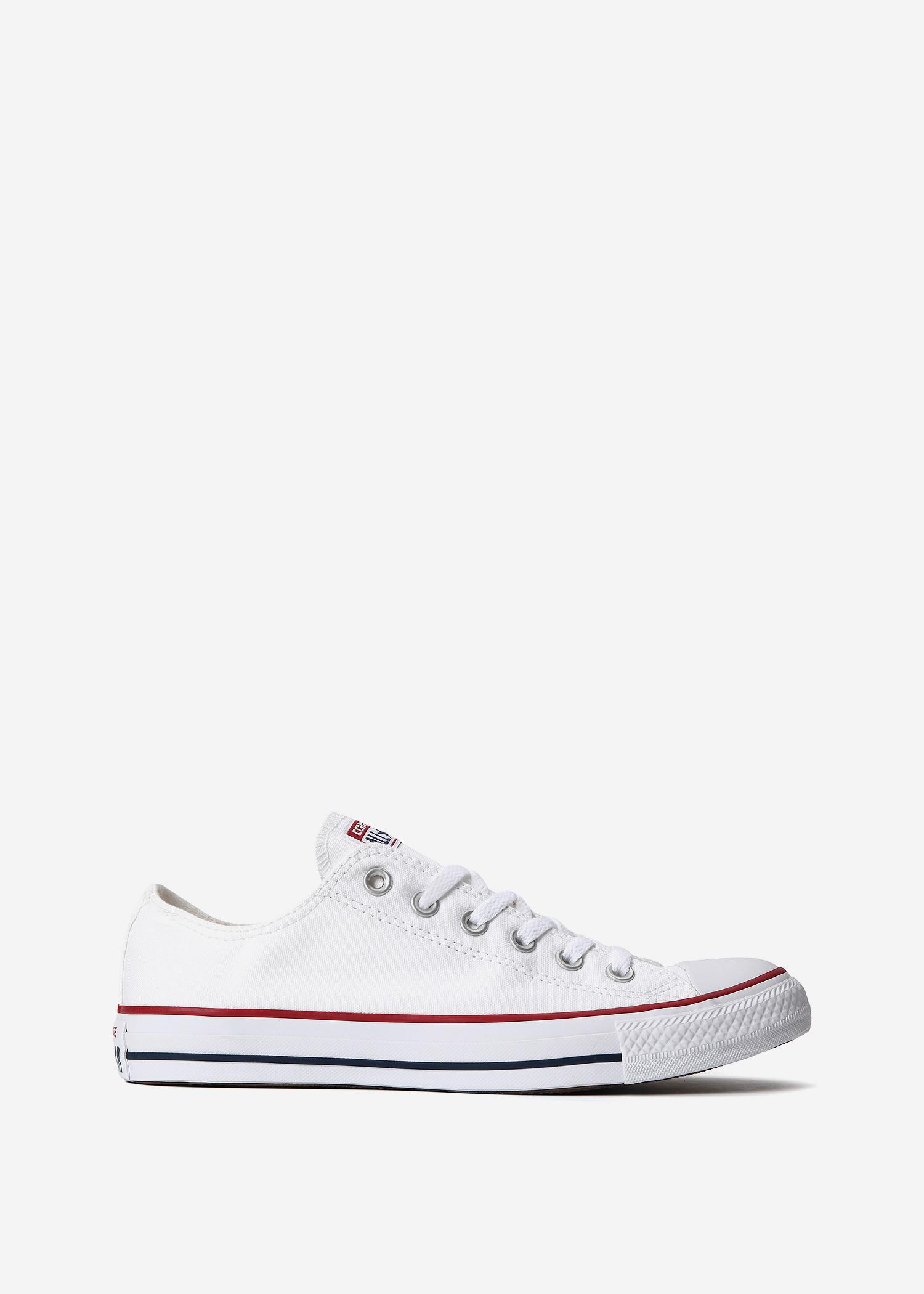 1db0ce08795ca4 Lyst - Converse Chuck Taylor All Star Ox in White