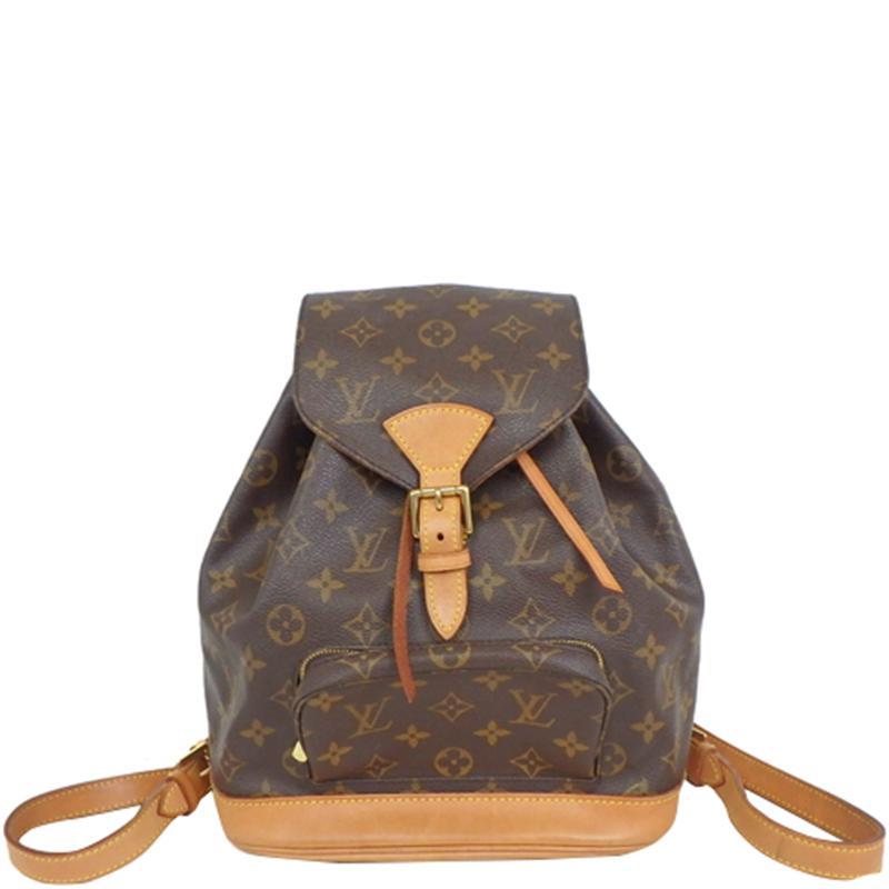 593d0b0636b0 Louis Vuitton Monogram Canvas Montsouris Mm Backpack in Brown - Lyst