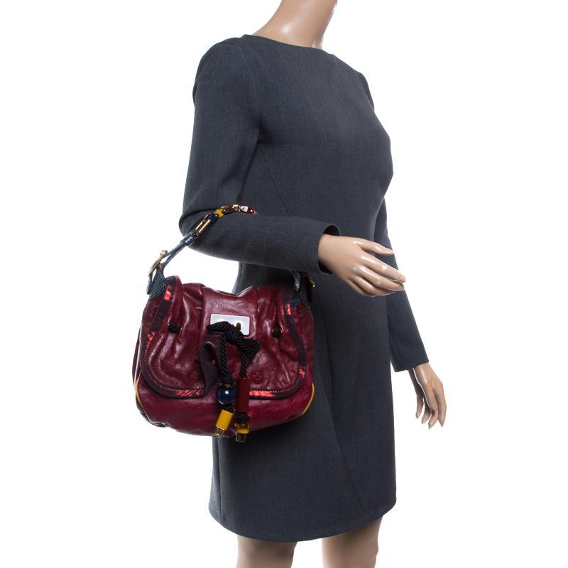 a0d696ebf326 Louis Vuitton - Red Paprika Monogram Limited Edition Epices Kalahari Pm Bag  - Lyst. View fullscreen