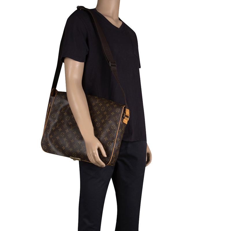 fa48c0940beb Louis Vuitton - Brown Monogram Canvas Abbesses Messenger Bag for Men -  Lyst. View fullscreen