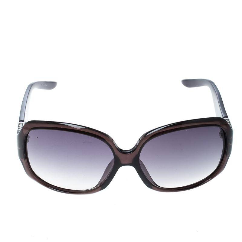 52395bbf03b Dior - Black Transparent  Gradient Eveningf Oversize Square Sunglasses -  Lyst. View fullscreen