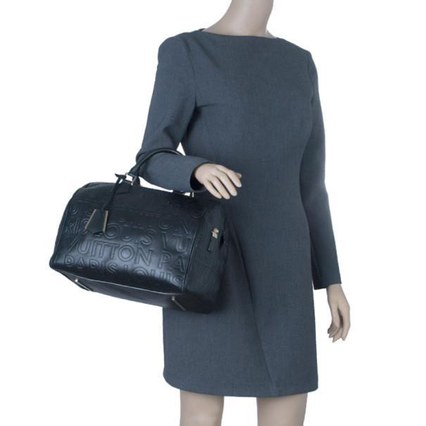 Lyst - Louis Vuitton Monogram Leather Paris Speedy Cube 30 in Black c7b16b22ae