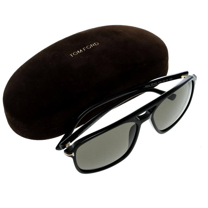 abbcc627728 Lyst - Tom Ford Tf332 Terry Square Sunglasses in Black for Men