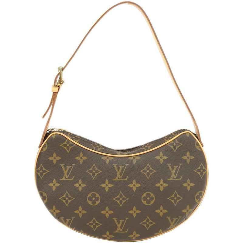 2e19ccff9e6f Lyst - Louis Vuitton Monogram Canvas Croissant Pm Bag in Brown
