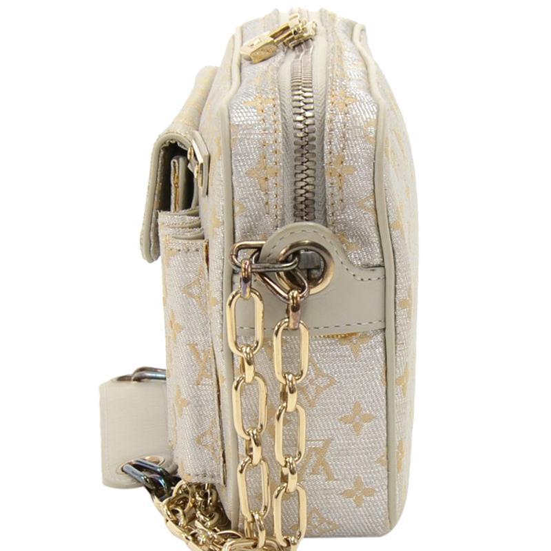 1cbe2ac84ef7 Louis Vuitton - Metallic Monogram Mini Lin Shine Mckenna Bag - Lyst. View  fullscreen