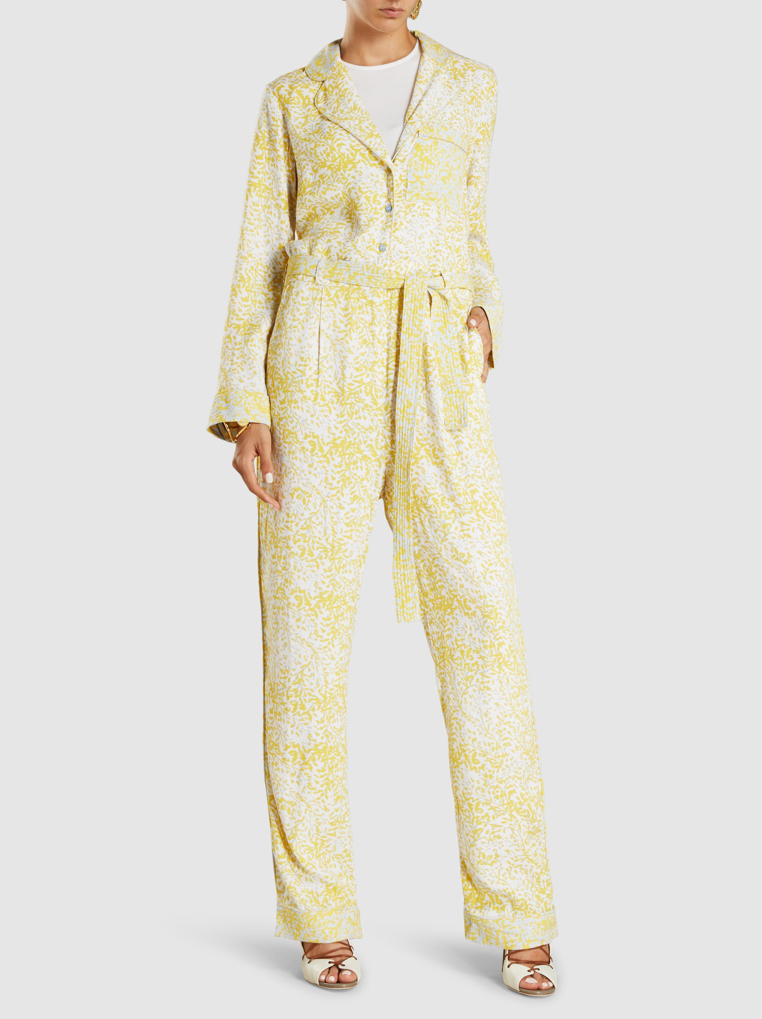 9ba400617d0 Stine Goya Olive Lee Jumpsuit in Yellow - Lyst